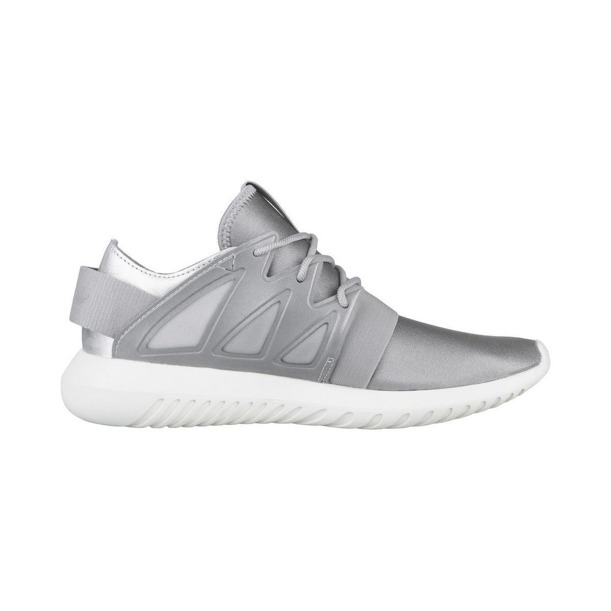 adidas Tubular Viral W Gymnastics Shoes in Metallic Silver (Metallic)