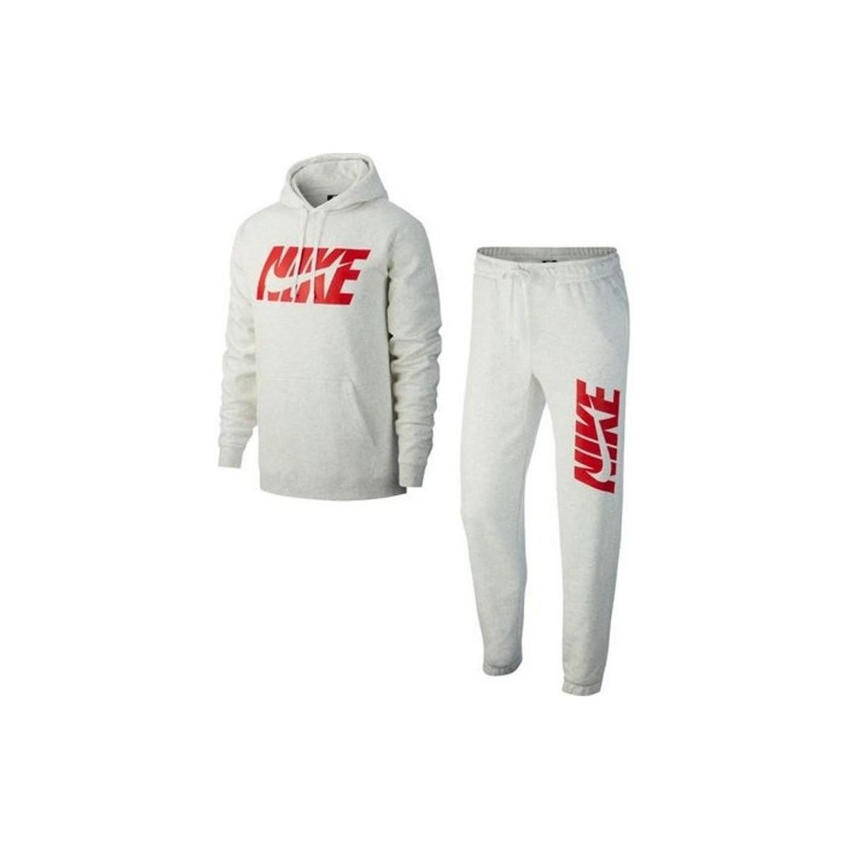 92b16142ff Ensemble de survêtement Track Suit - AR1341-051 hommes Ensembles de  survêtement en blanc Nike pour homme en coloris White