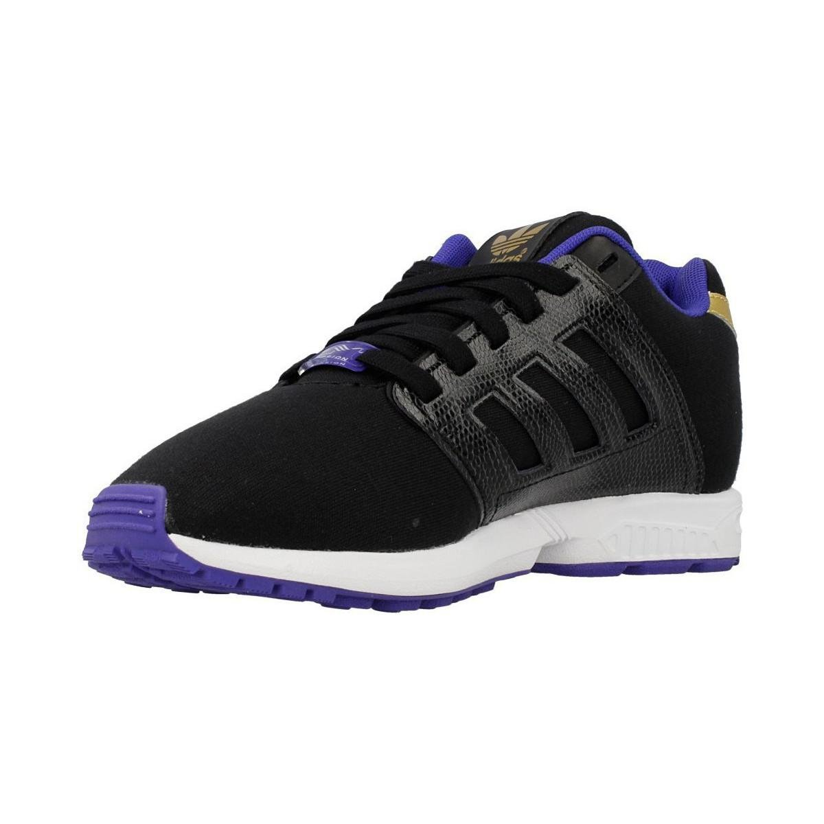 a3d4c66c5 adidas Zx Flux 20 W Women s Shoes (trainers) In Black in Black - Lyst