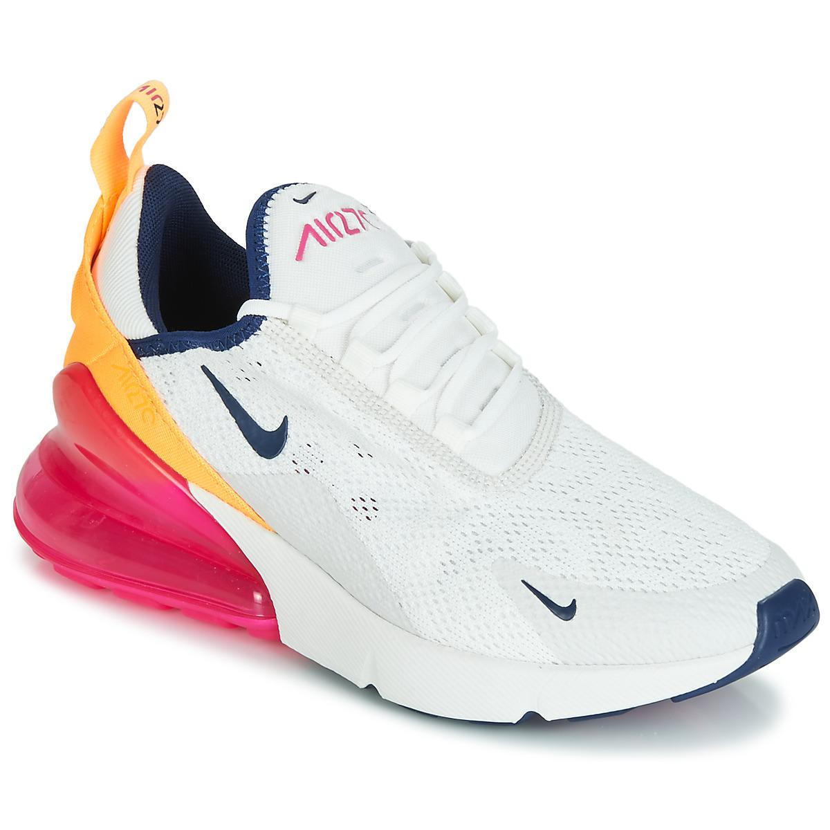 b2a7f4a92d18ef Nike Air Max 270 W Women s Shoes (trainers) In White in White - Lyst