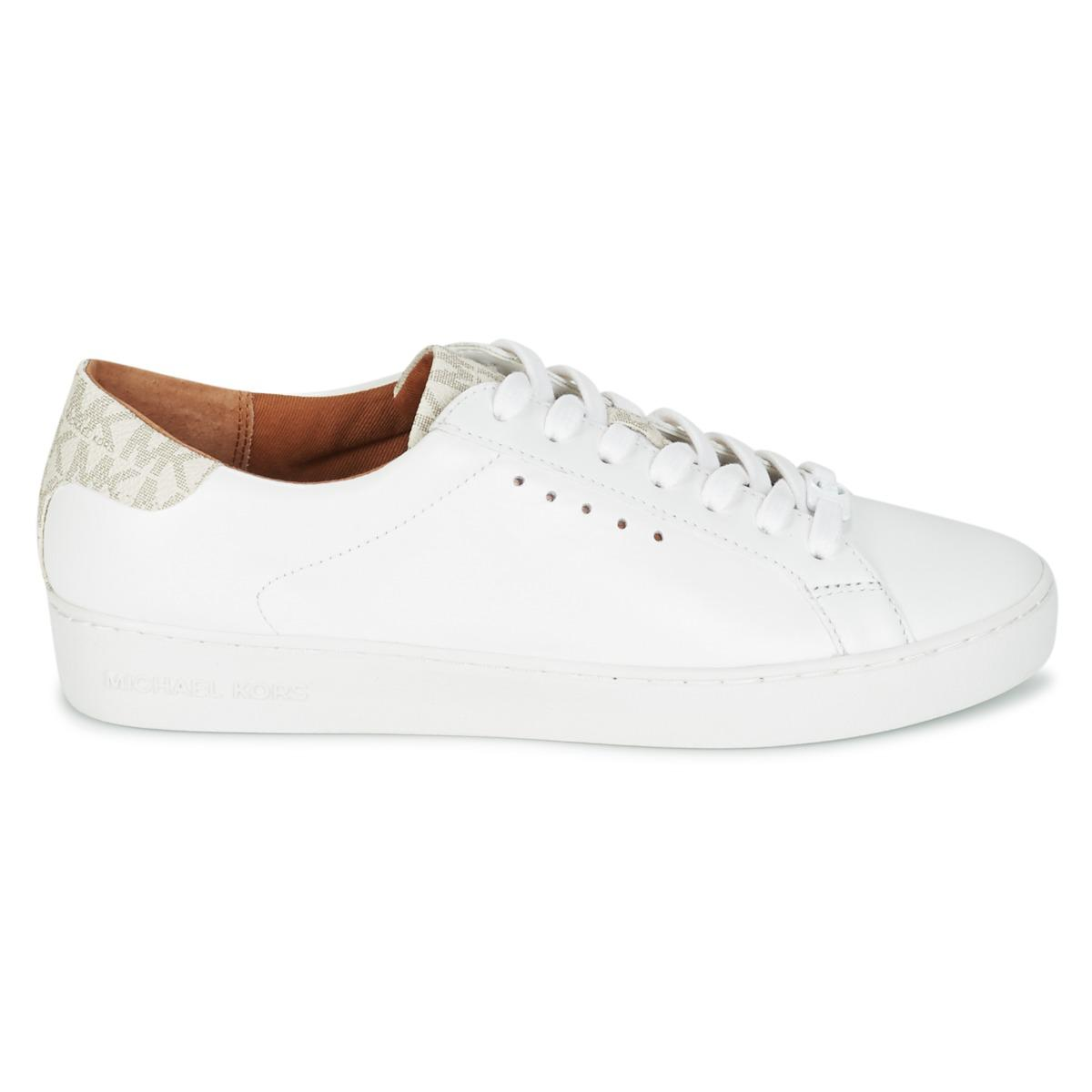 MICHAEL Michael Kors Irving Lace Up Shoes (trainers) in White - Save 17%