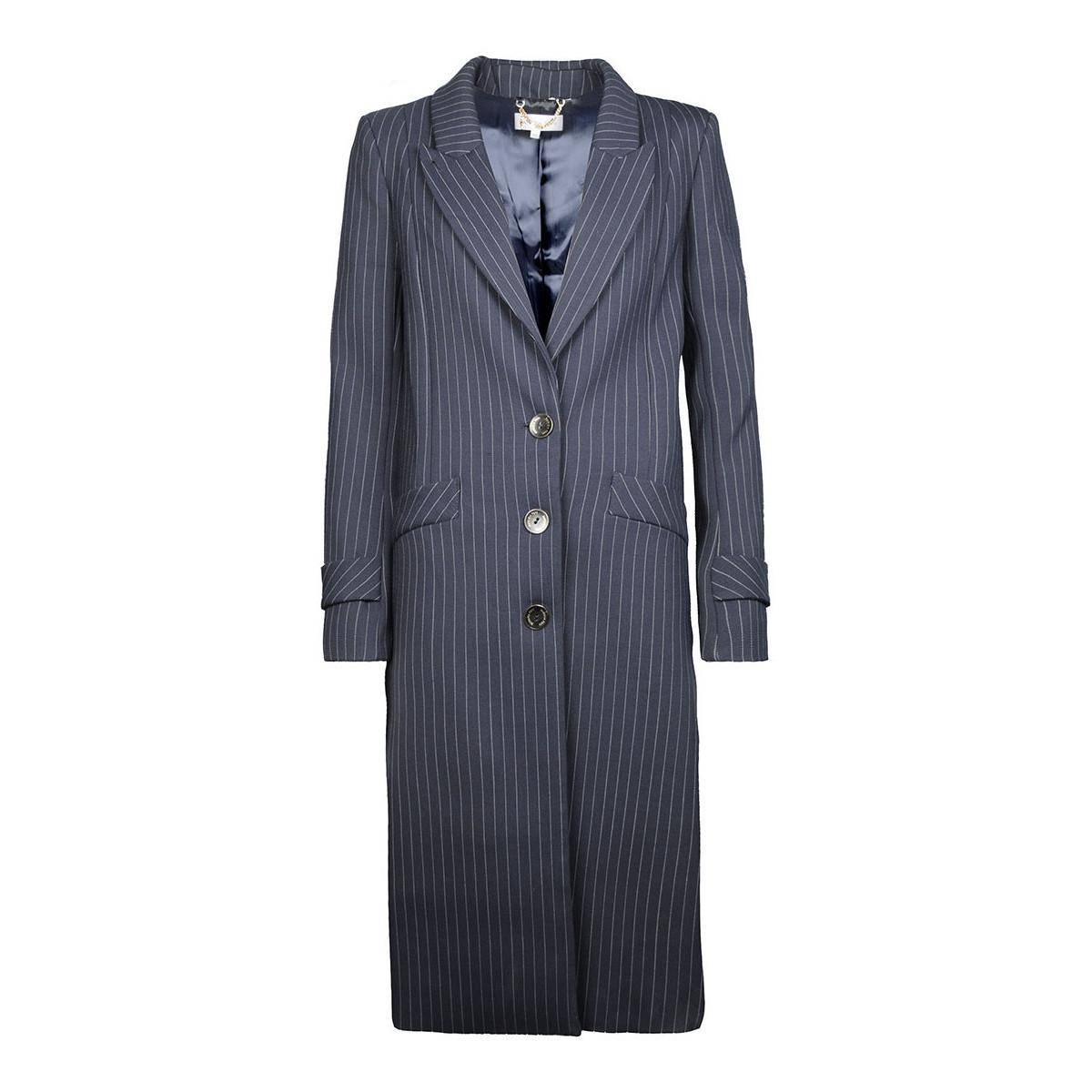 - femmes Manteau en bleu Patrizia Pepe en coloris Bleu - 28 % de réduction vcU5O