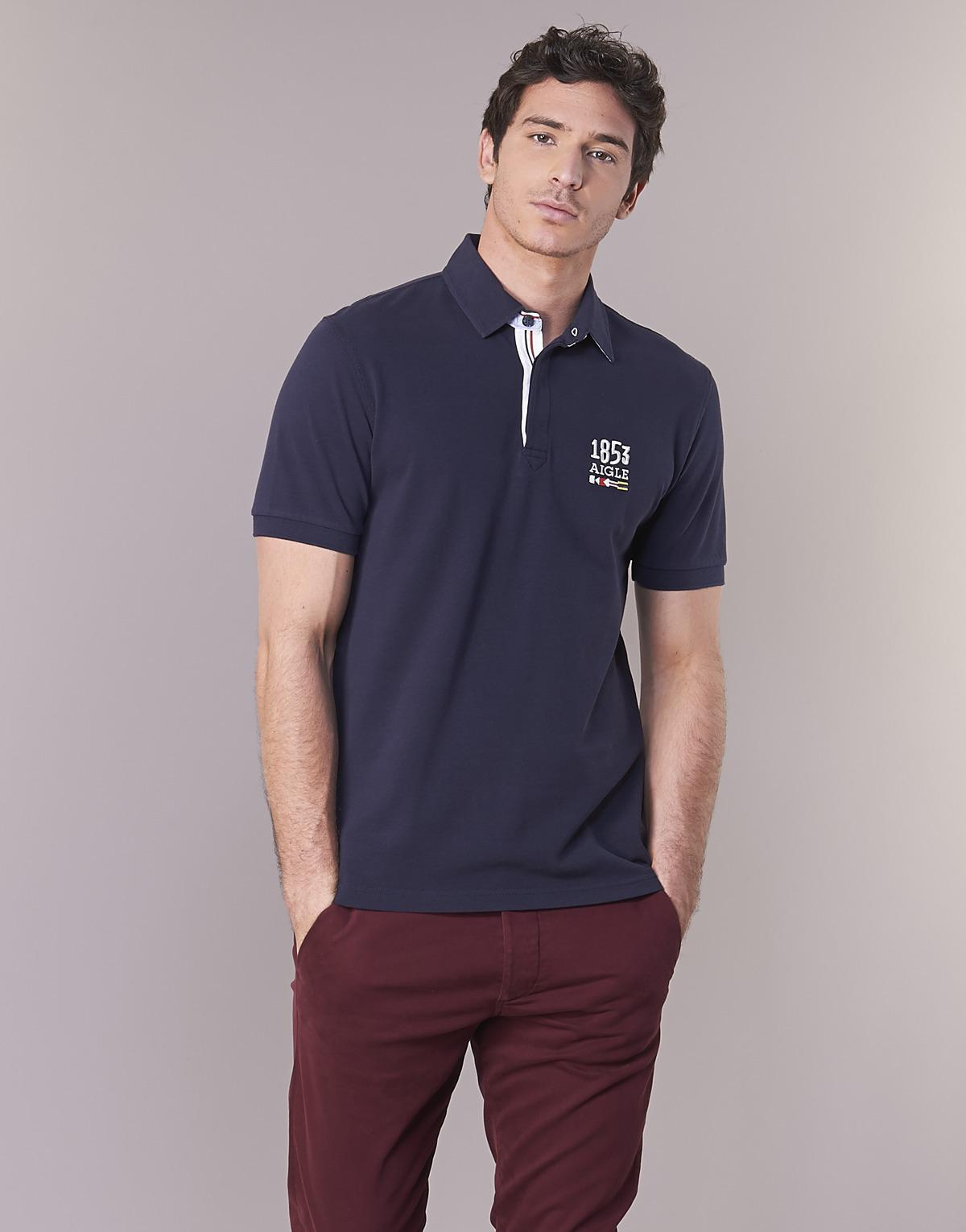 Stairsea rouge Polo homme AIGLE