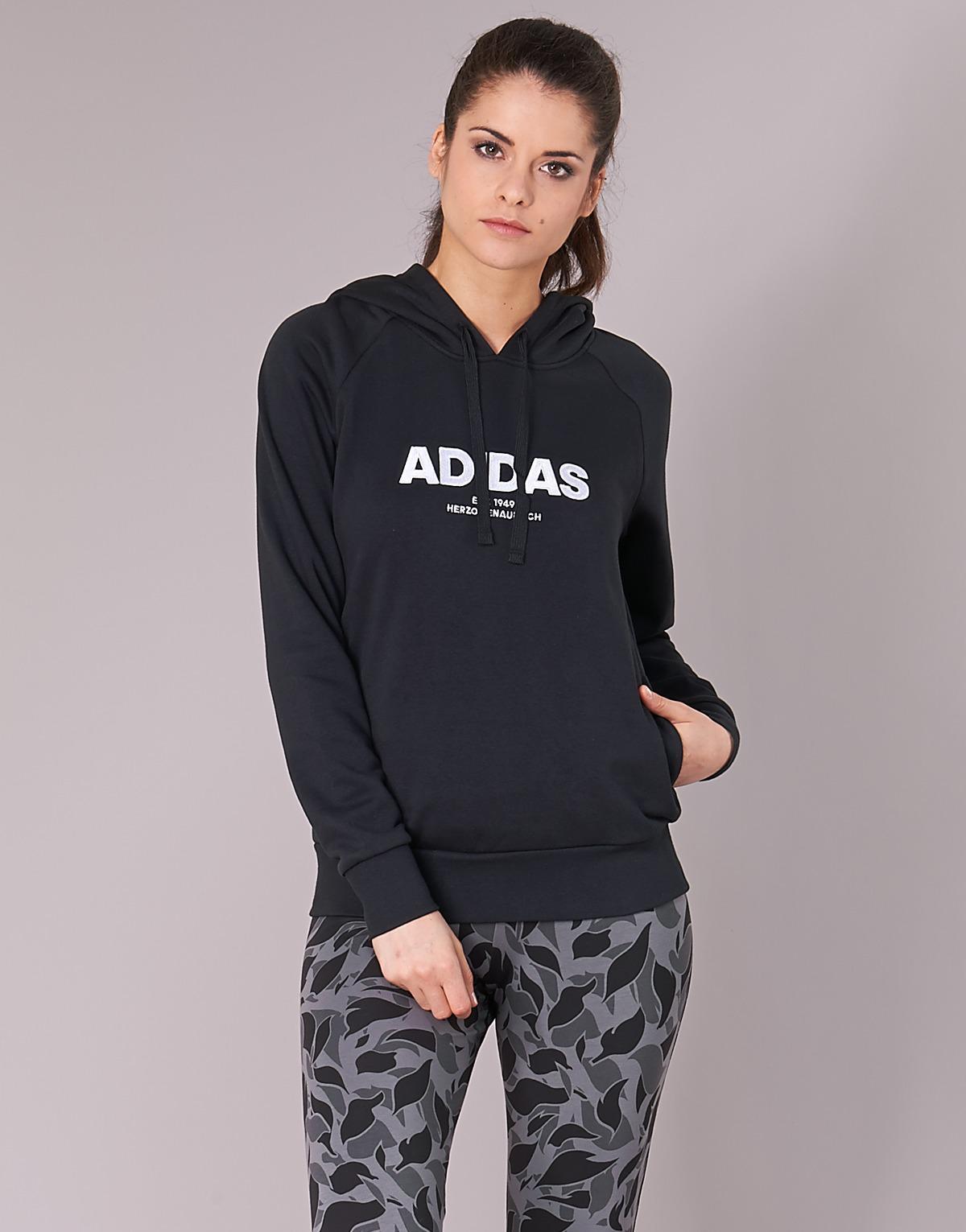 adidas Ess Allcap Oh H Sweatshirt in Black - Save 10% - Lyst 04f5a21ce65