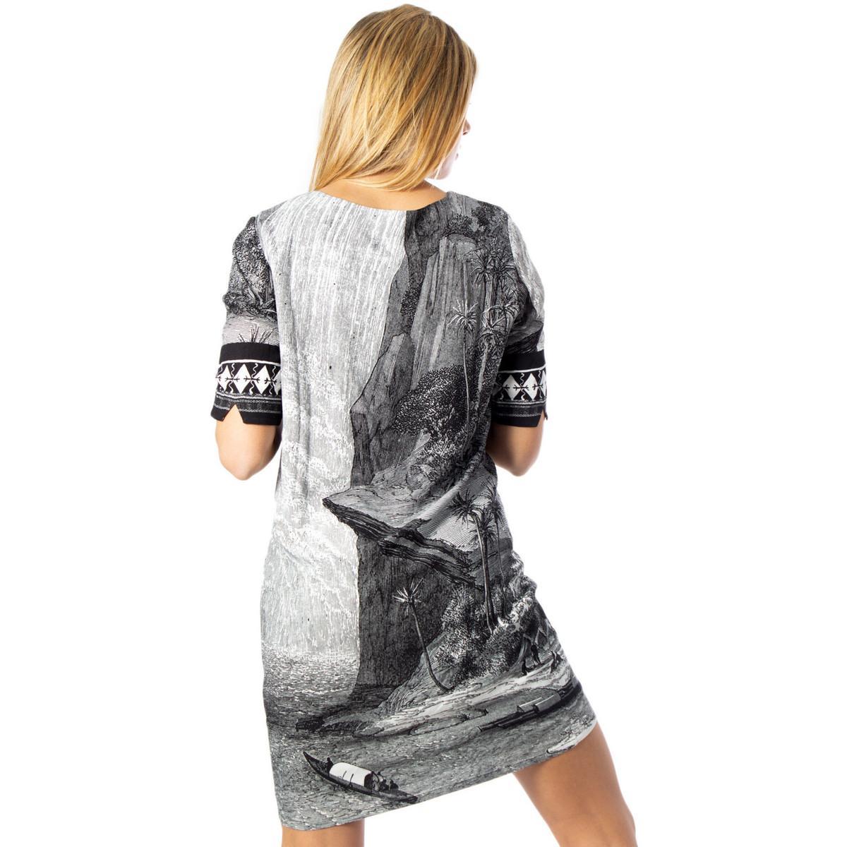 20SWVWAM Robe Desigual en coloris Noir