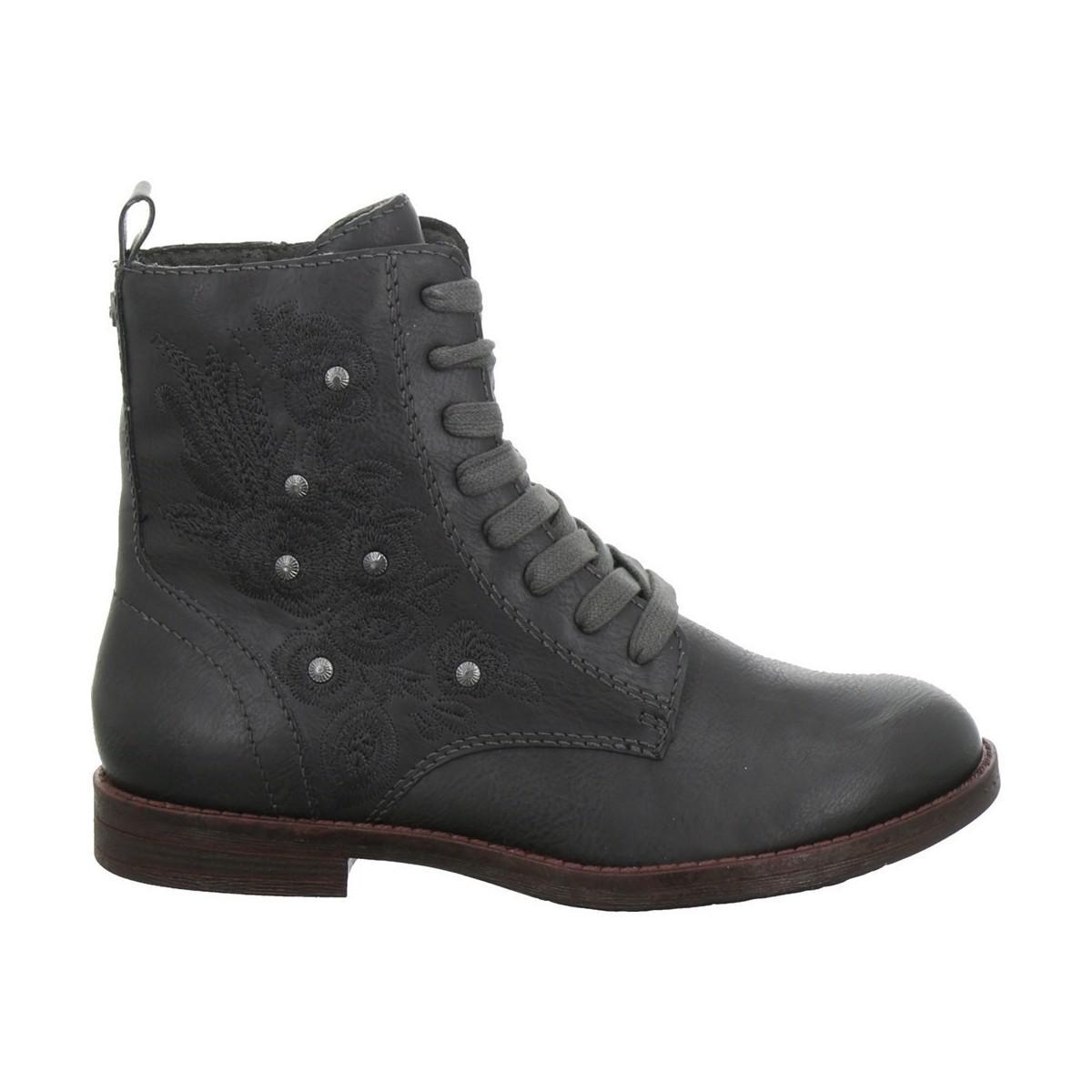 Boots Lyst Tamaris In Grey Women's Gray 112511421214 Mid gnnWtA