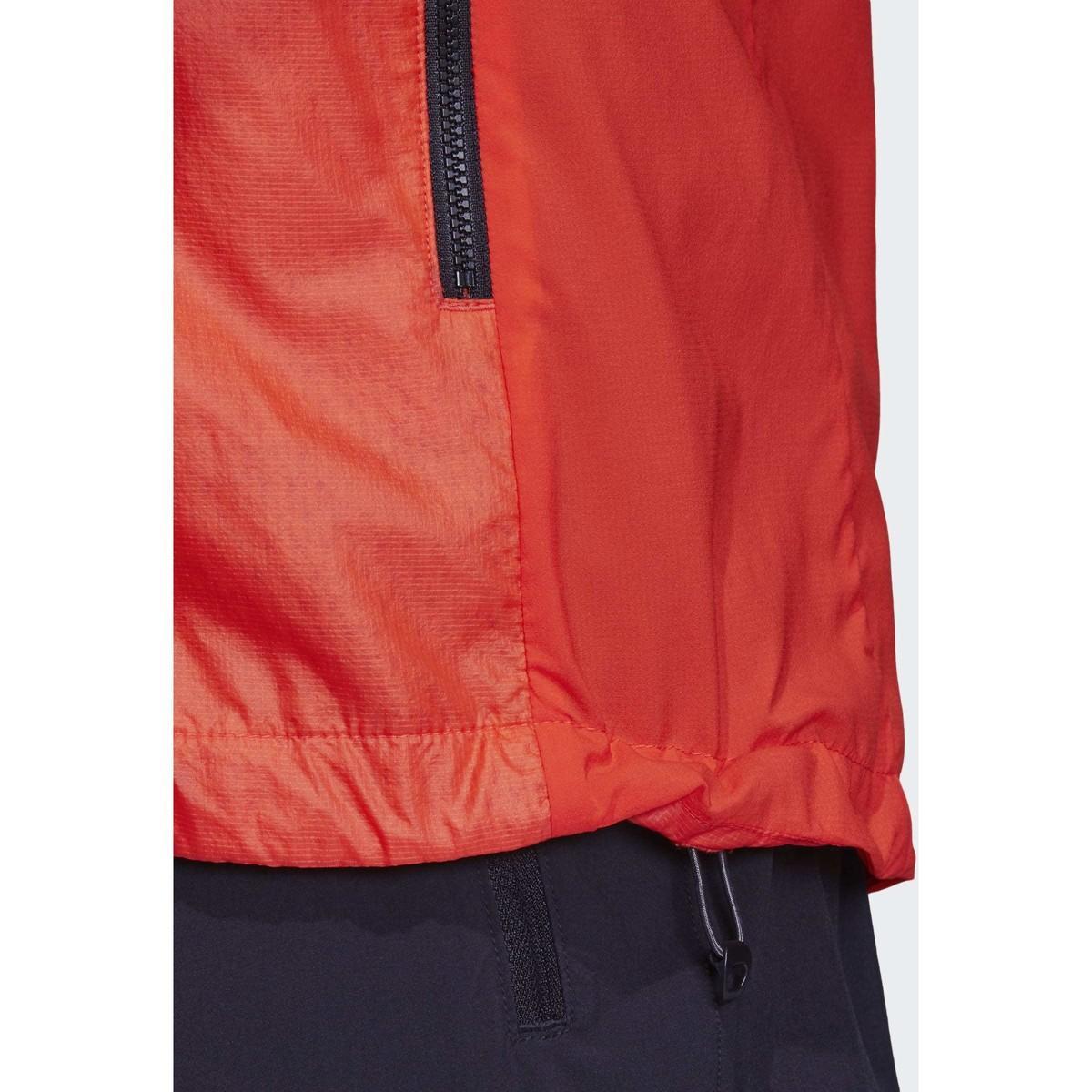 adidas Blazer Terrex Agravic Alpha Hooded Shield Windjack in het Oranje voor heren