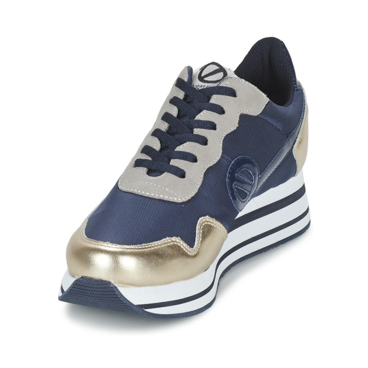 No Name Synthetic Parko Record Women's Shoes (trainers) In Blue