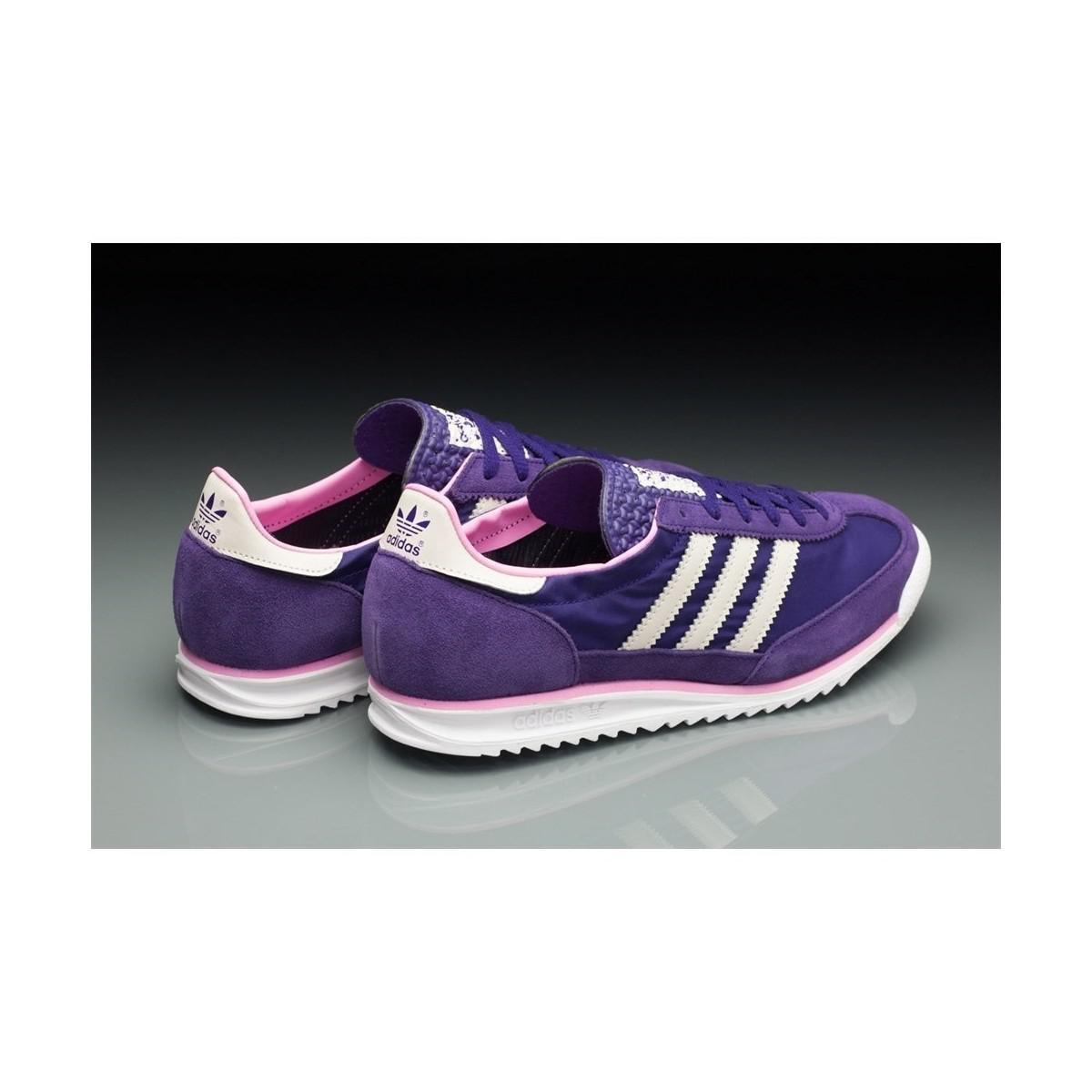 Virgen Gigante Alternativa  adidas Sl 72 W Women's Shoes (trainers) In Purple - Lyst