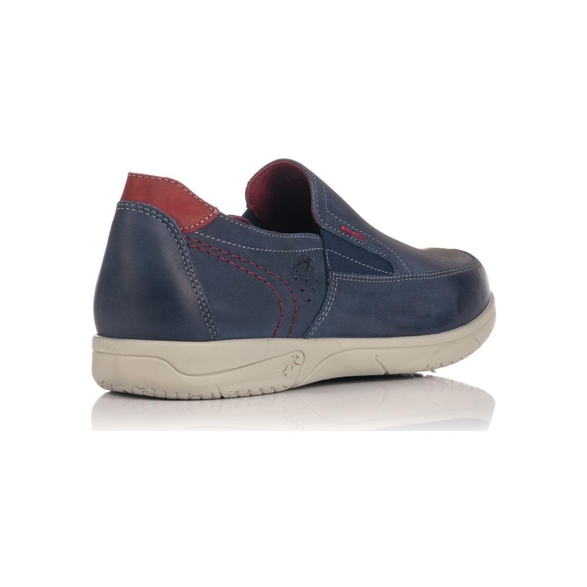 0107 Chaussures Fluchos pour homme en coloris Bleu