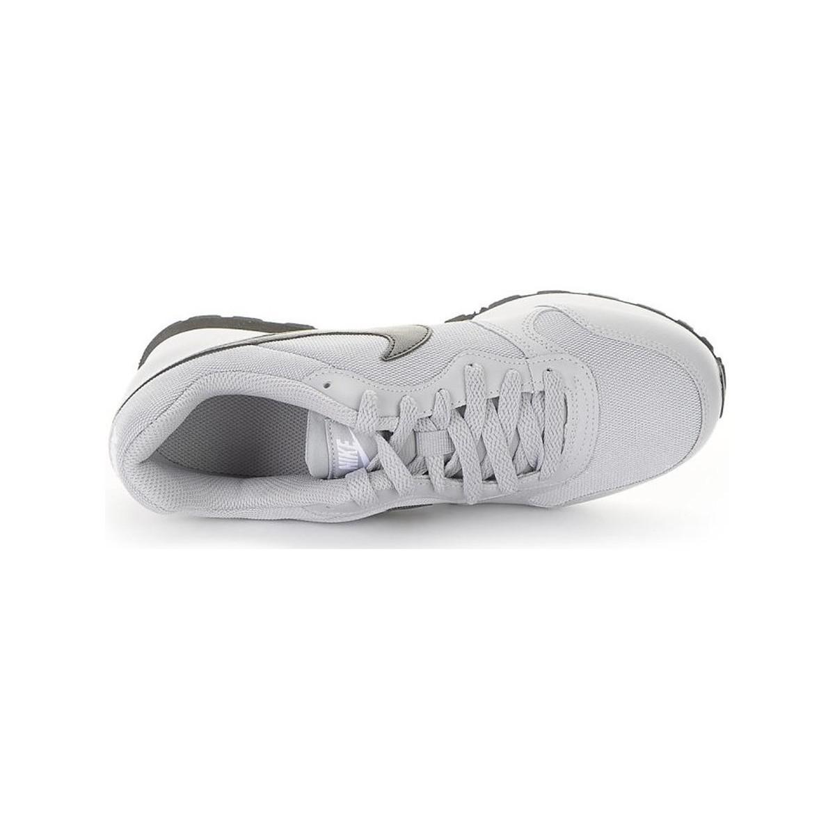 Nike Md Runner 2 Gs Women's Shoes (trainers) In White