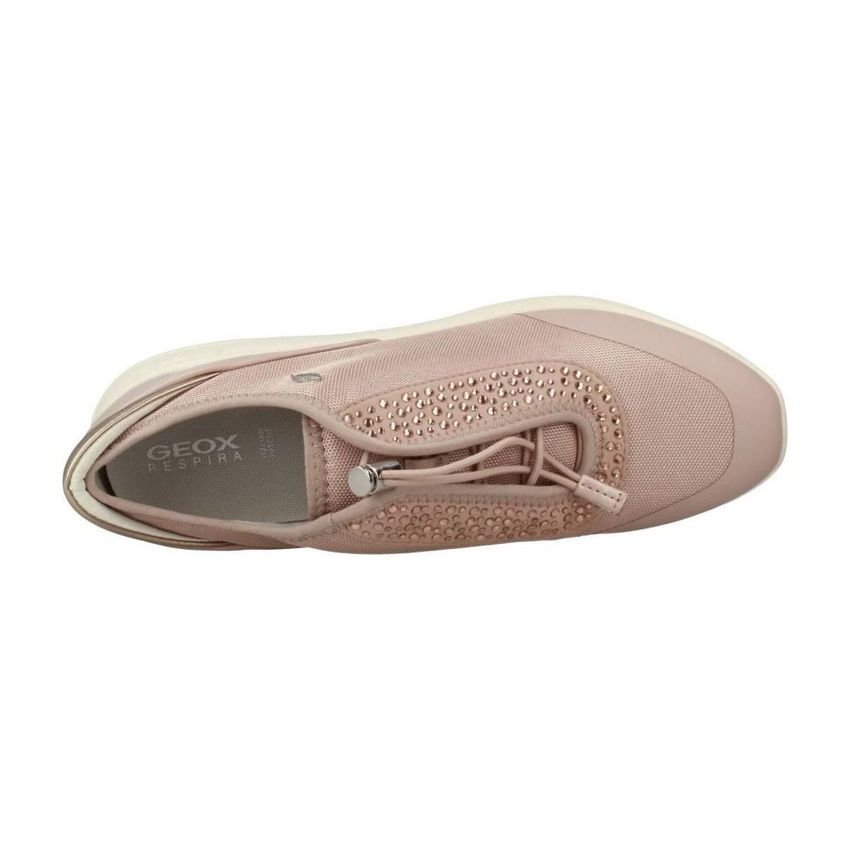 Geox D Ophira Women's Shoes (trainers) In Pink