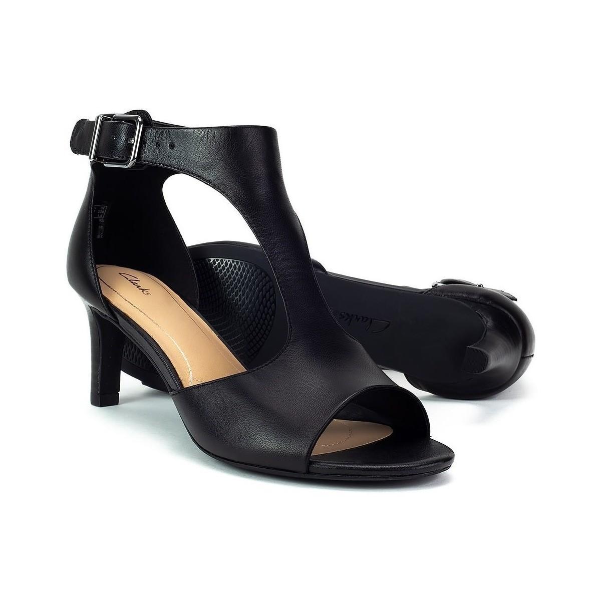 058b4974513d Clarks - Laureti Star Women s Sandals In Black - Lyst. View fullscreen