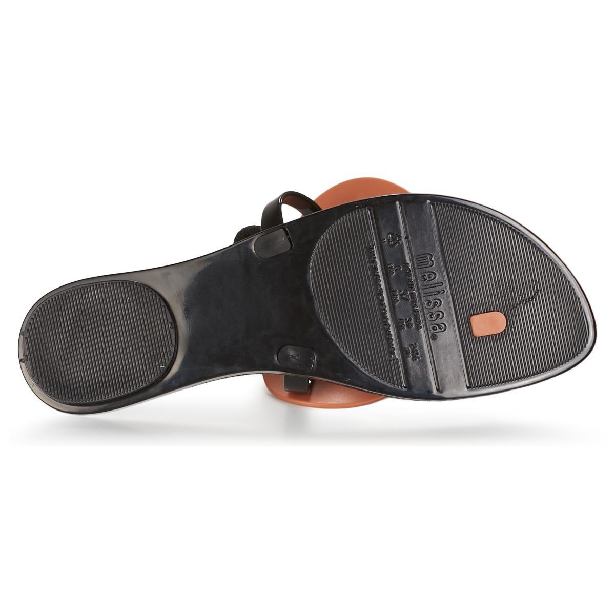Sandales Melissa en coloris Noir