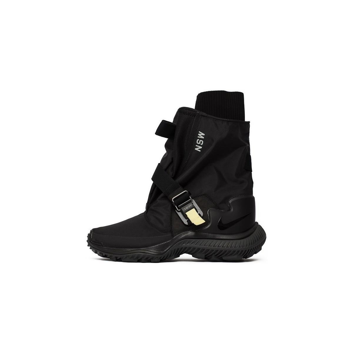 42ac2f715a3 Nike Wmns Gaiter Boot Women's Shoes (high-top Trainers) In Black - Lyst