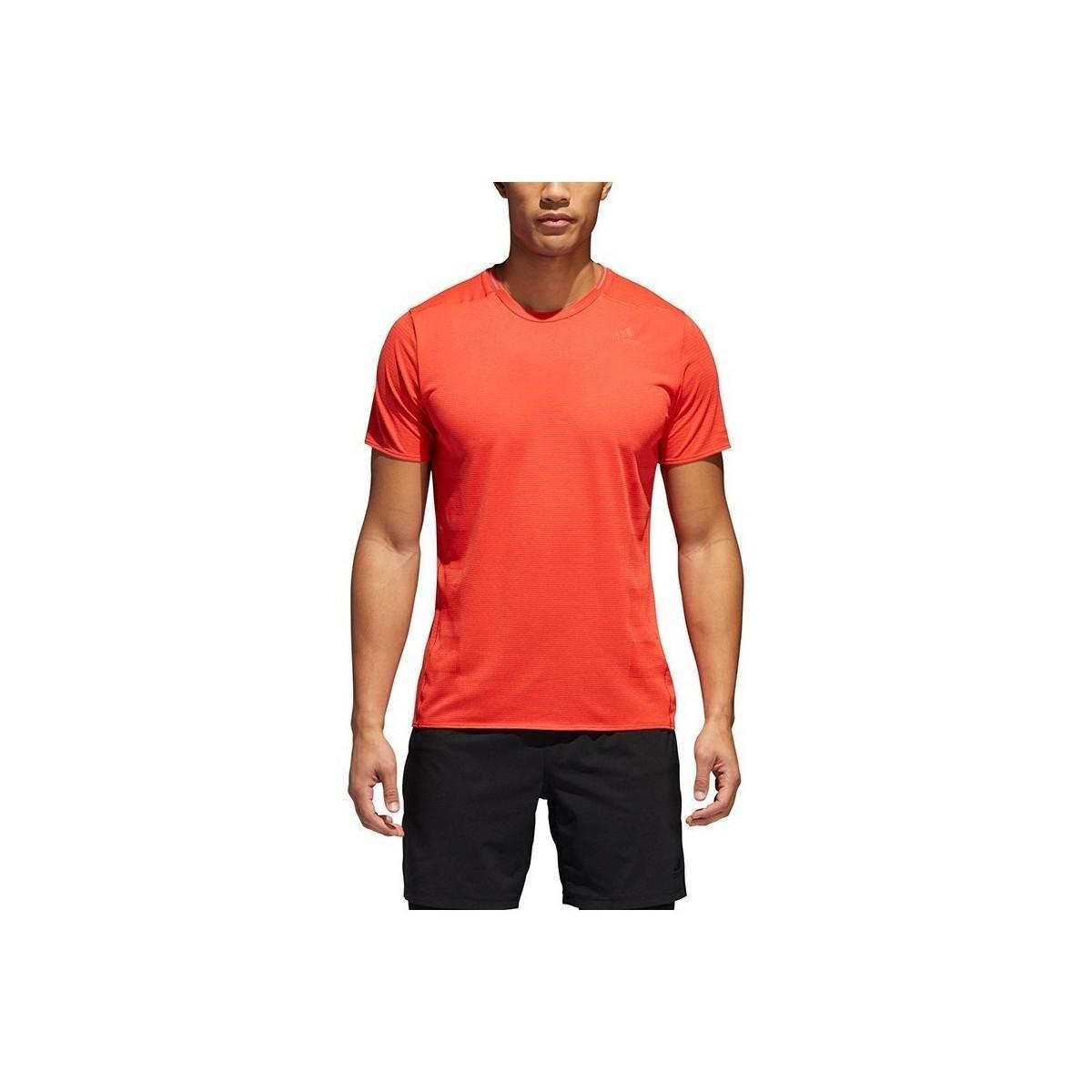Lyst - Adidas Supernova Tee M Men s T Shirt In Orange in Orange for Men 53a0183bc