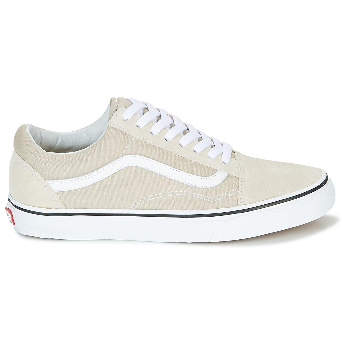 Vans Old Skool Women's Shoes (trainers) In Beige in Natural