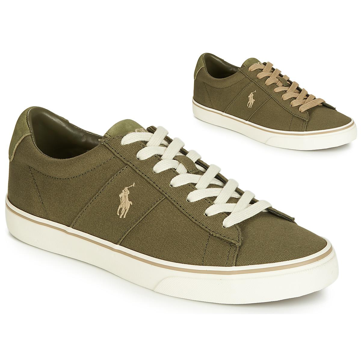 8121841eaf36 Polo Ralph Lauren Sayer Men s Shoes (trainers) In Green in Green for ...
