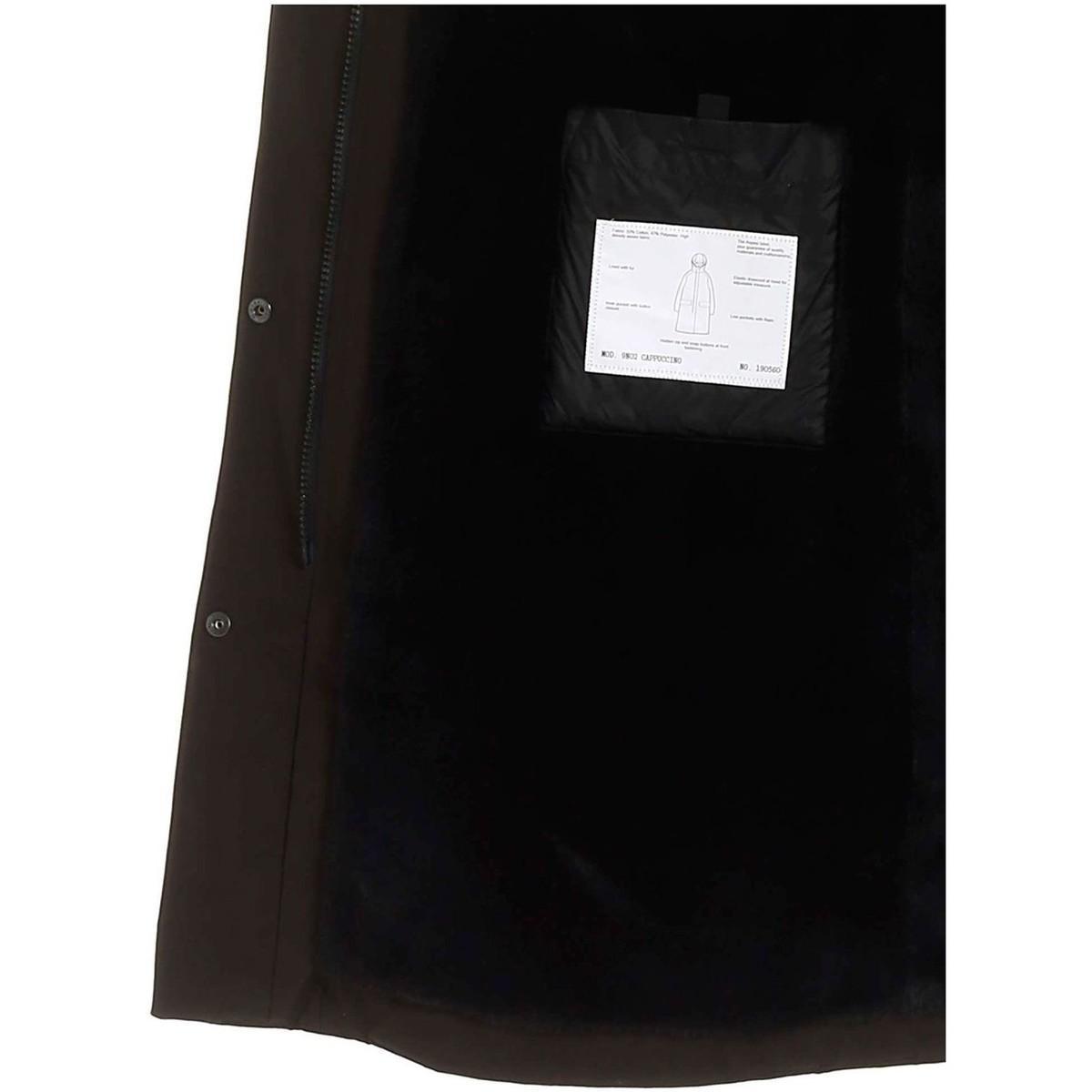 MANTEAU FEMME Manteau Aspesi en coloris Noir 1qbh3