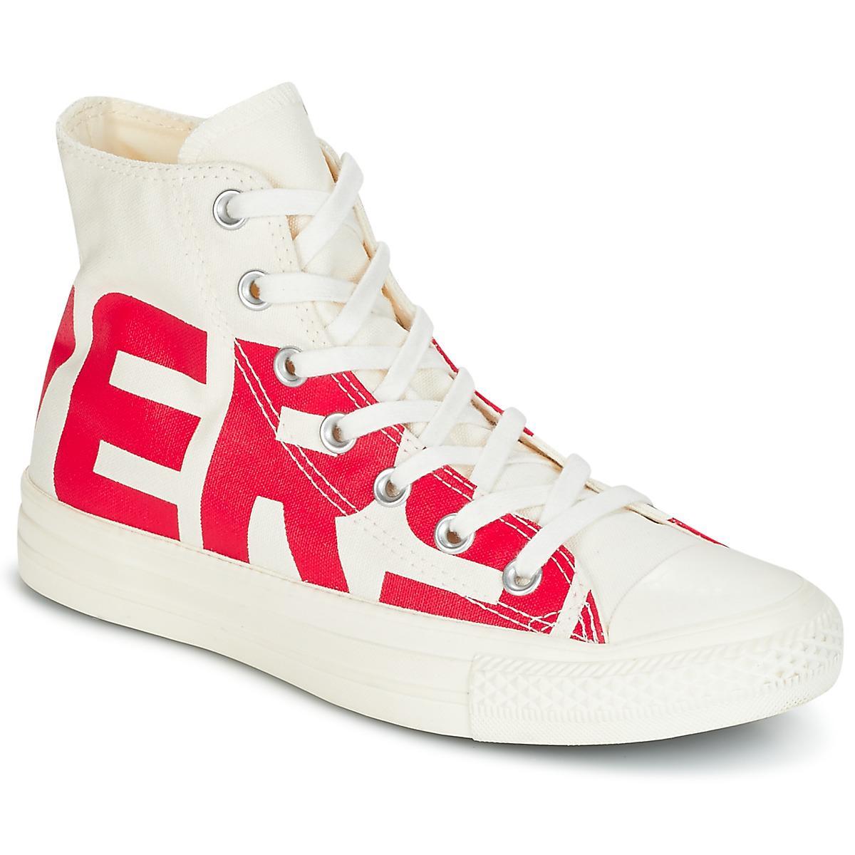 56d19c2fe0c6e2 Converse Chuck Taylor All Star Hi Wordmark Men s Shoes (high-top ...