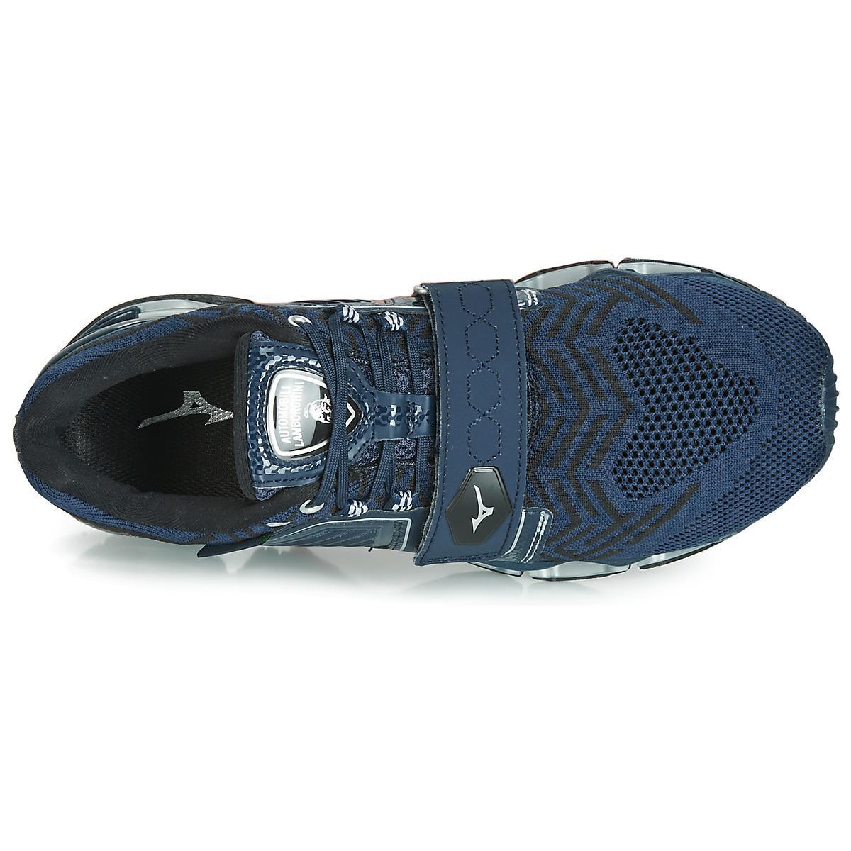 Mizuno Hardloopschoenen Wave Tenjin 5 in het Blauw voor heren
