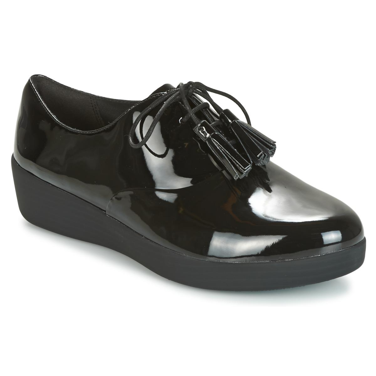 069ae3fe6102 Fitflop Classic Tassel Superoxford Women s Casual Shoes In Black in ...