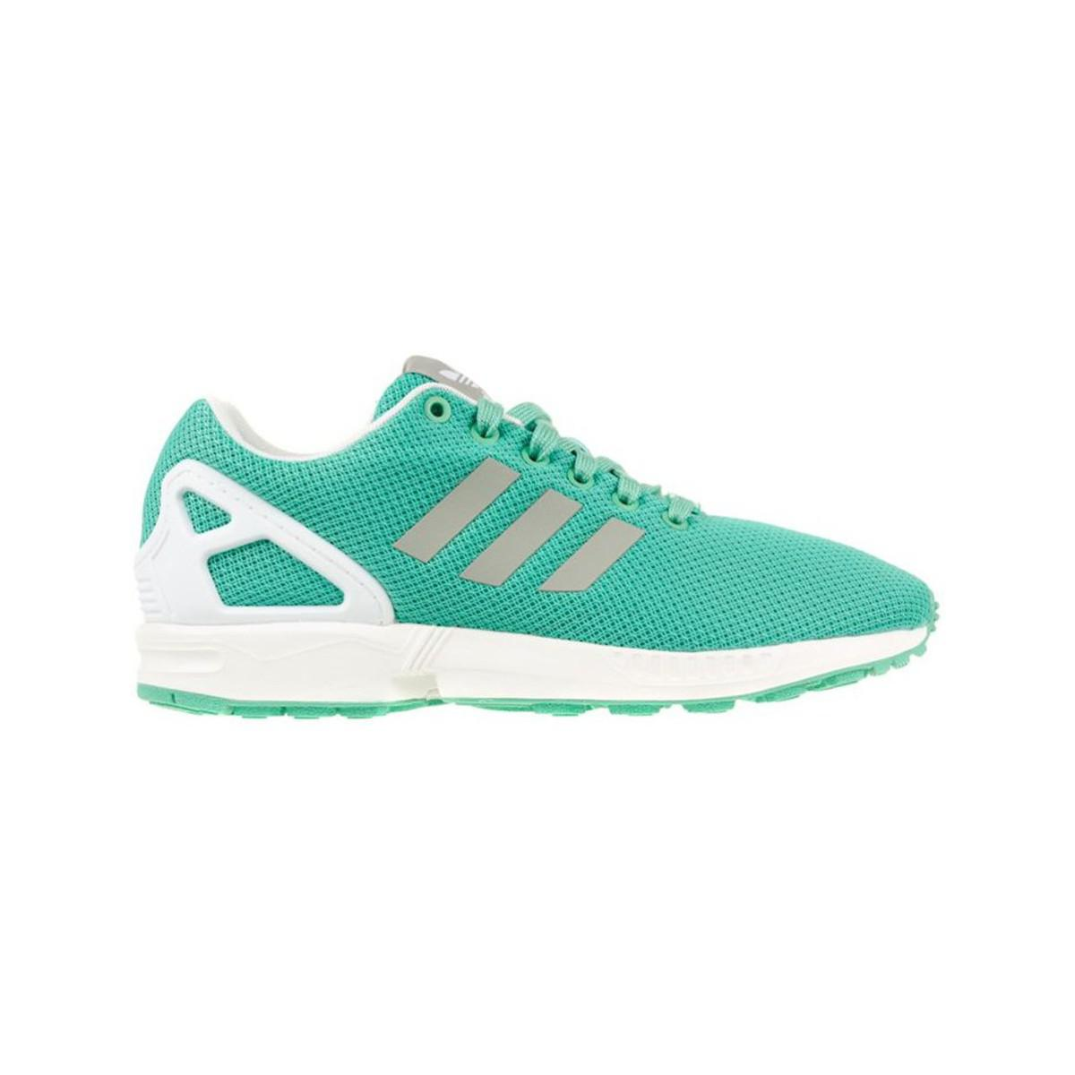 info for cca12 63613 Adidas - Green Zx Flux W Womens Shoes (trainers) In Multicolour - Lyst.  View fullscreen