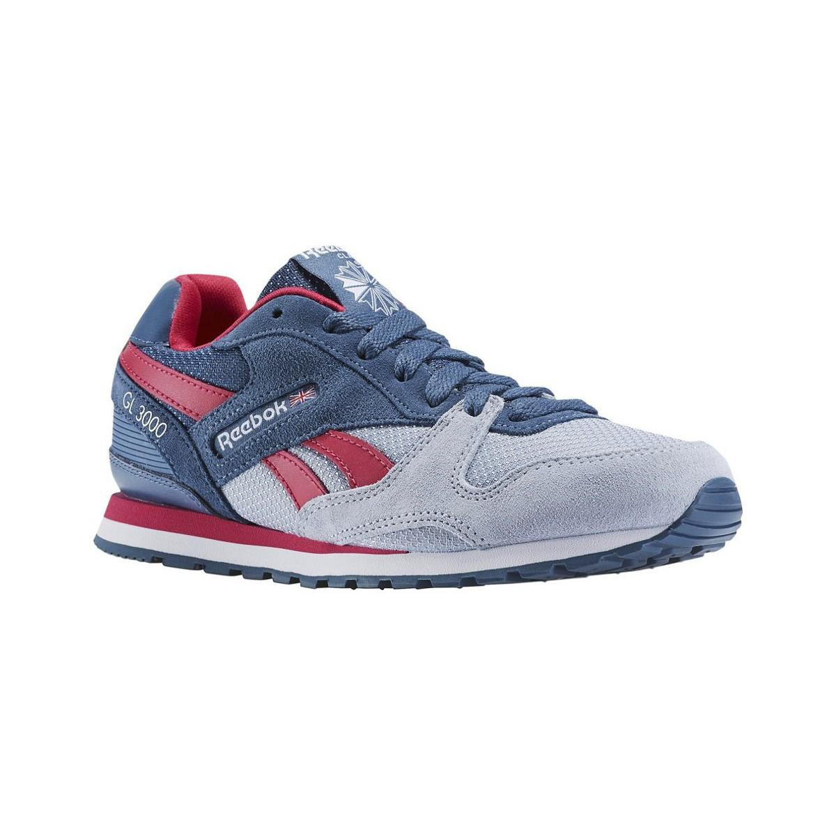 5cdf84555fd2 Reebok Gl 3000 Sp Women s Shoes (trainers) In Multicolour in Blue - Lyst