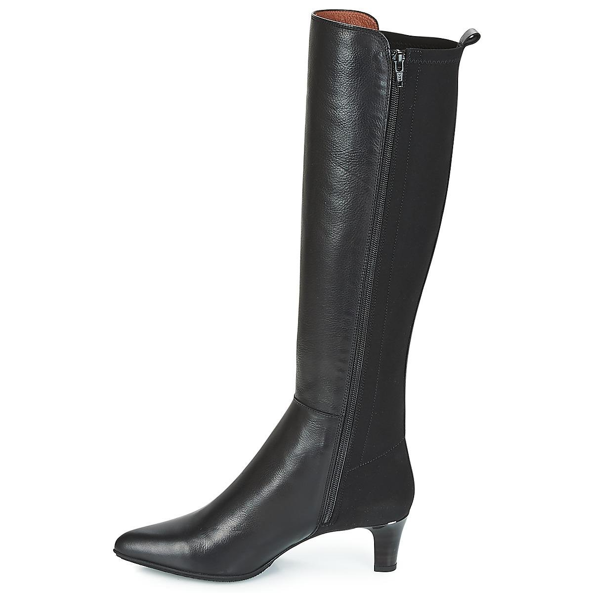 Hispanitas Leather Chilli High Boots in Black