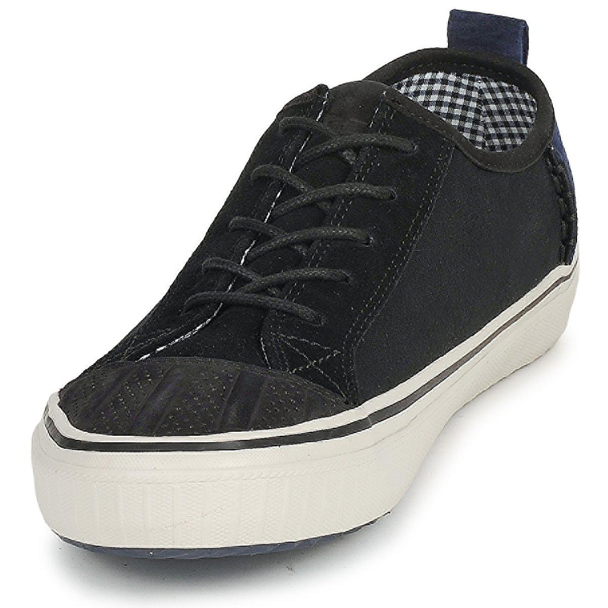 Sorel Leather Berlin Low Men's Shoes (trainers) In Black for Men