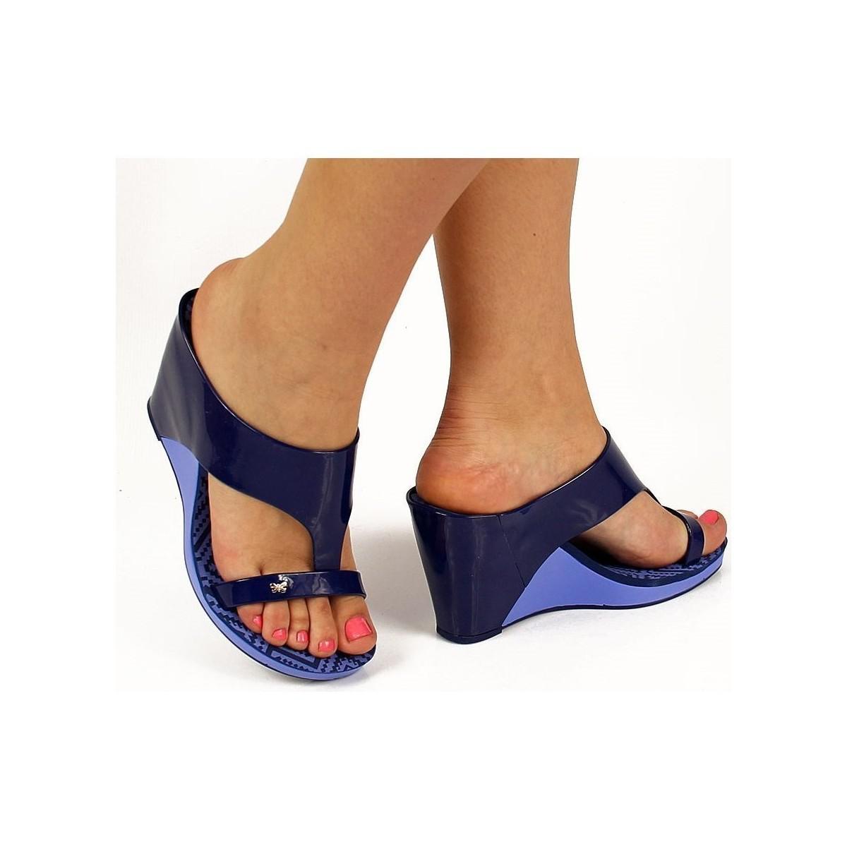0610e935ba Zaxy Glamour Top Ii Fem 81976 Women's Flip Flops / Sandals (shoes ...