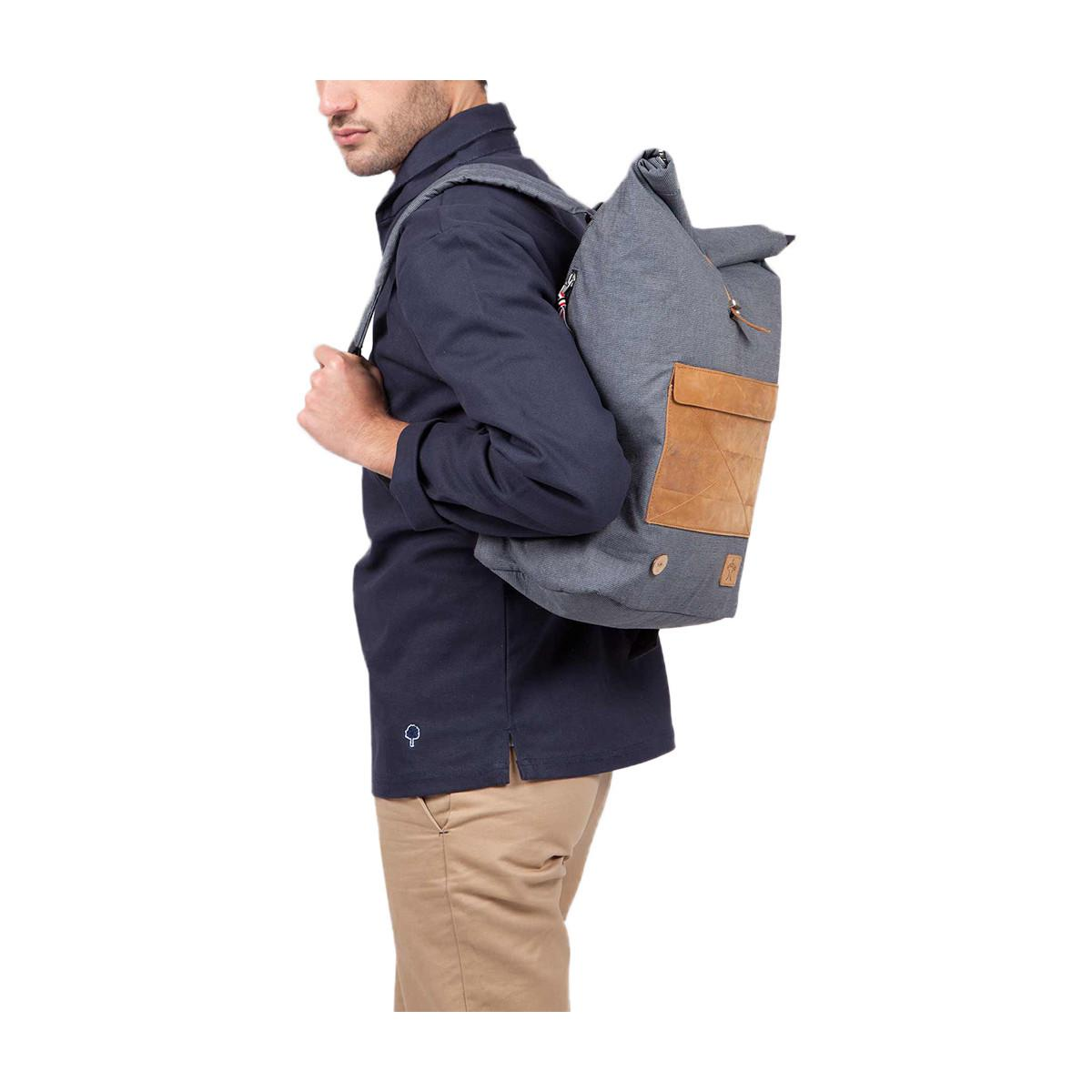 Faguo Cycling Backpack 42459 Navy Blue Men's Bag In Blue for Men