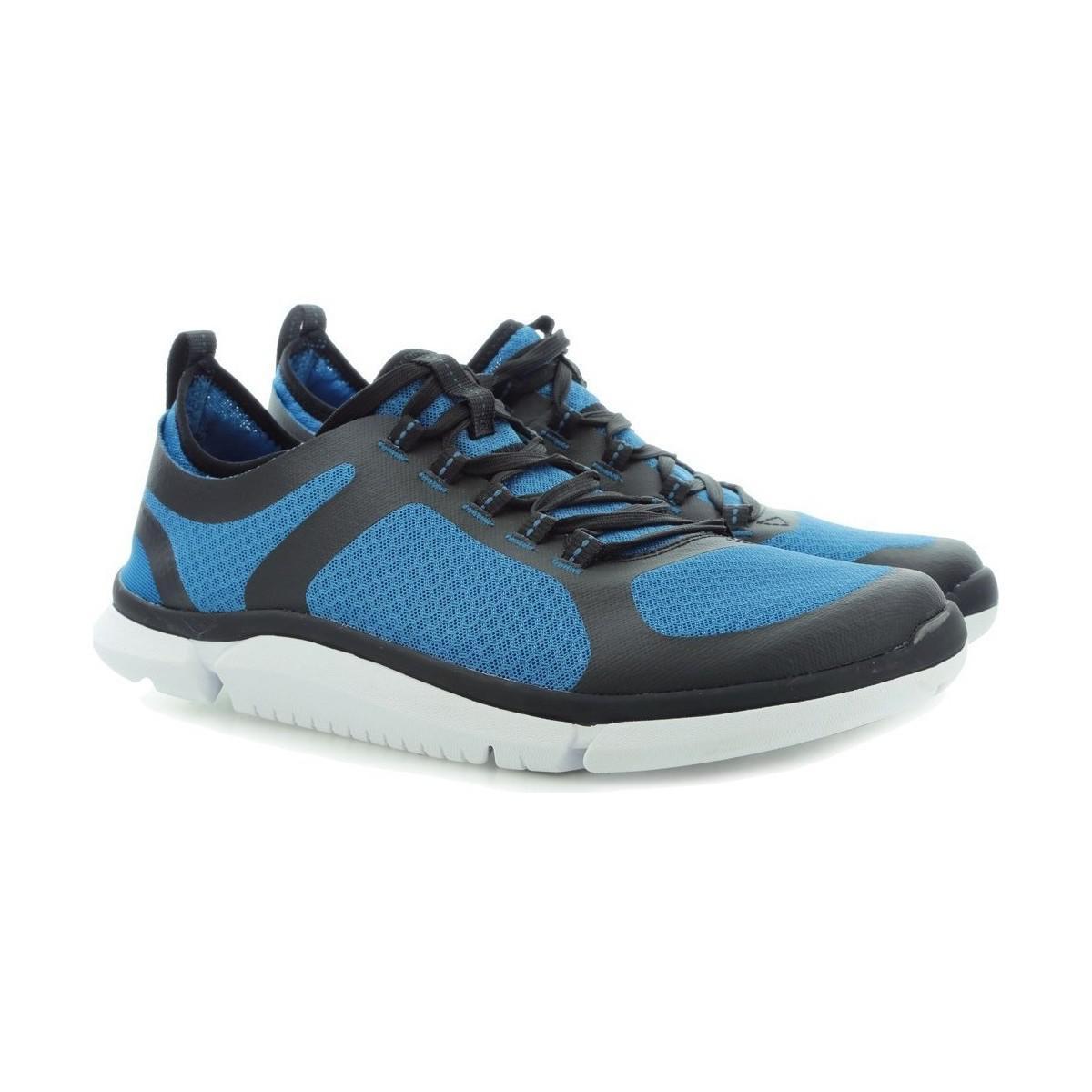 Clarks Triken Active Men's Shoes (trainers) In Blue for Men