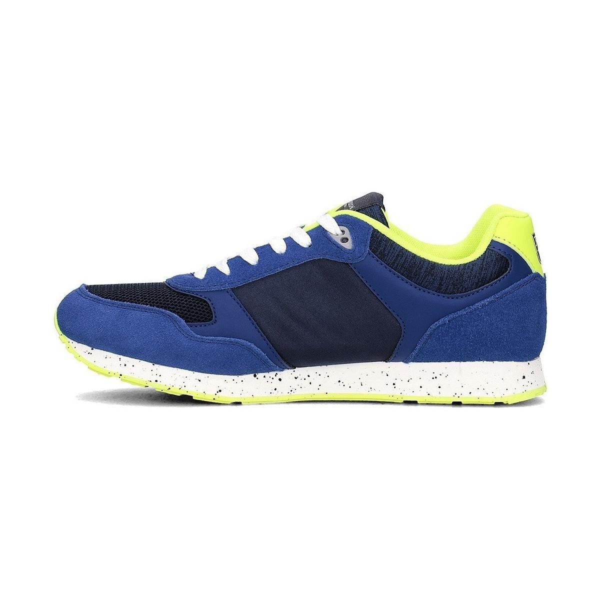 U.S. POLO ASSN. Flash4060s8lt1bluyel Men's Shoes (trainers) In Multicolour in Blue for Men
