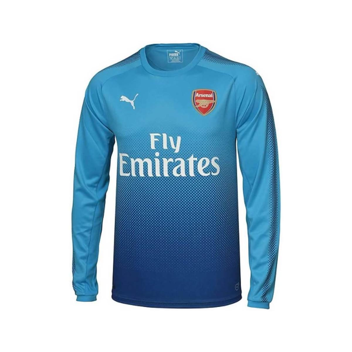 f3fcae879d6 PUMA. 2017-2018 Arsenal Away Long Sleeve Shirt (koscielny 6) - Kids Women s  In Blue
