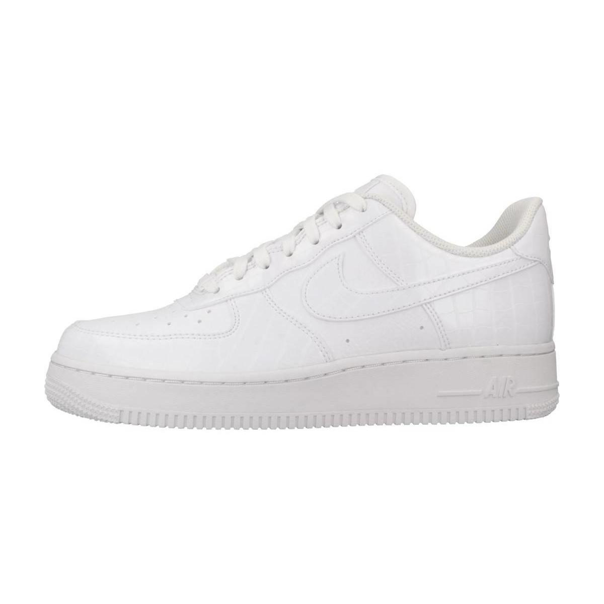 huge discount adc4d 7422e Nike Air Force 1 039 07 Ess Women s Shoes (trainers) In White in ...