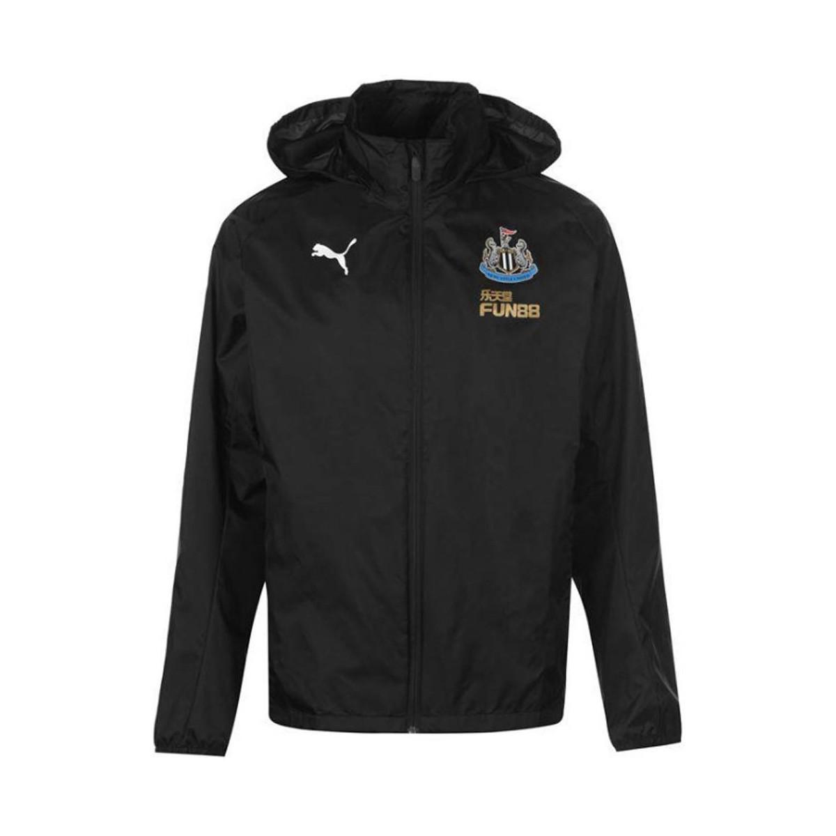 30fdb3326090 Puma 2018-2019 Newcastle Rain Jacket Women s In Black in Black for ...