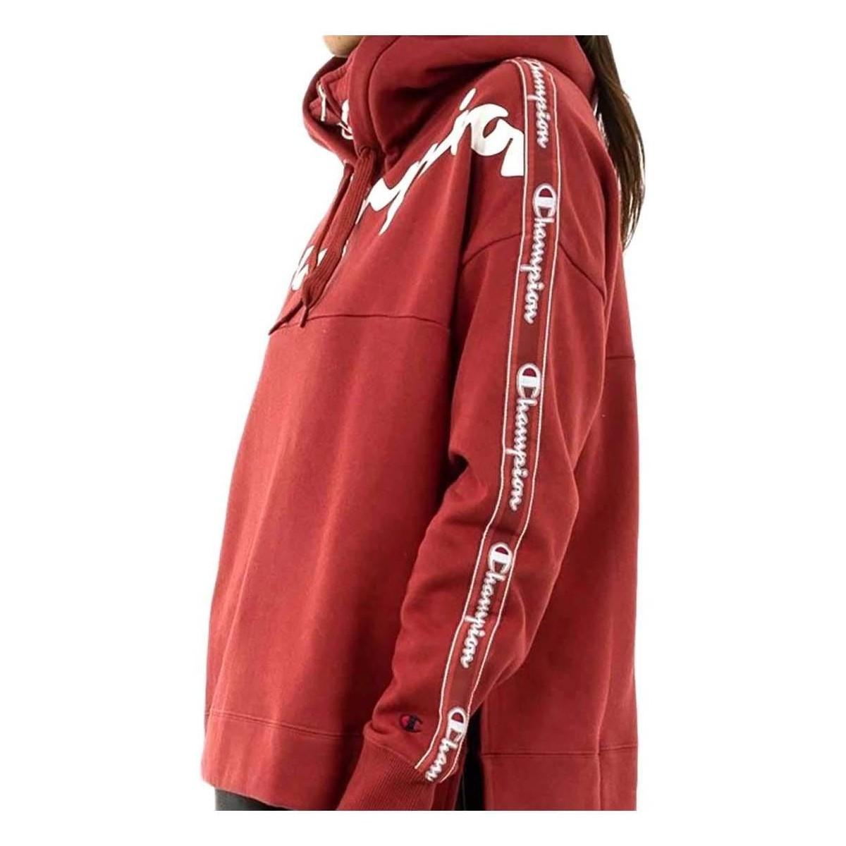 111928-RS515 Sweat-shirt Champion en coloris Rouge