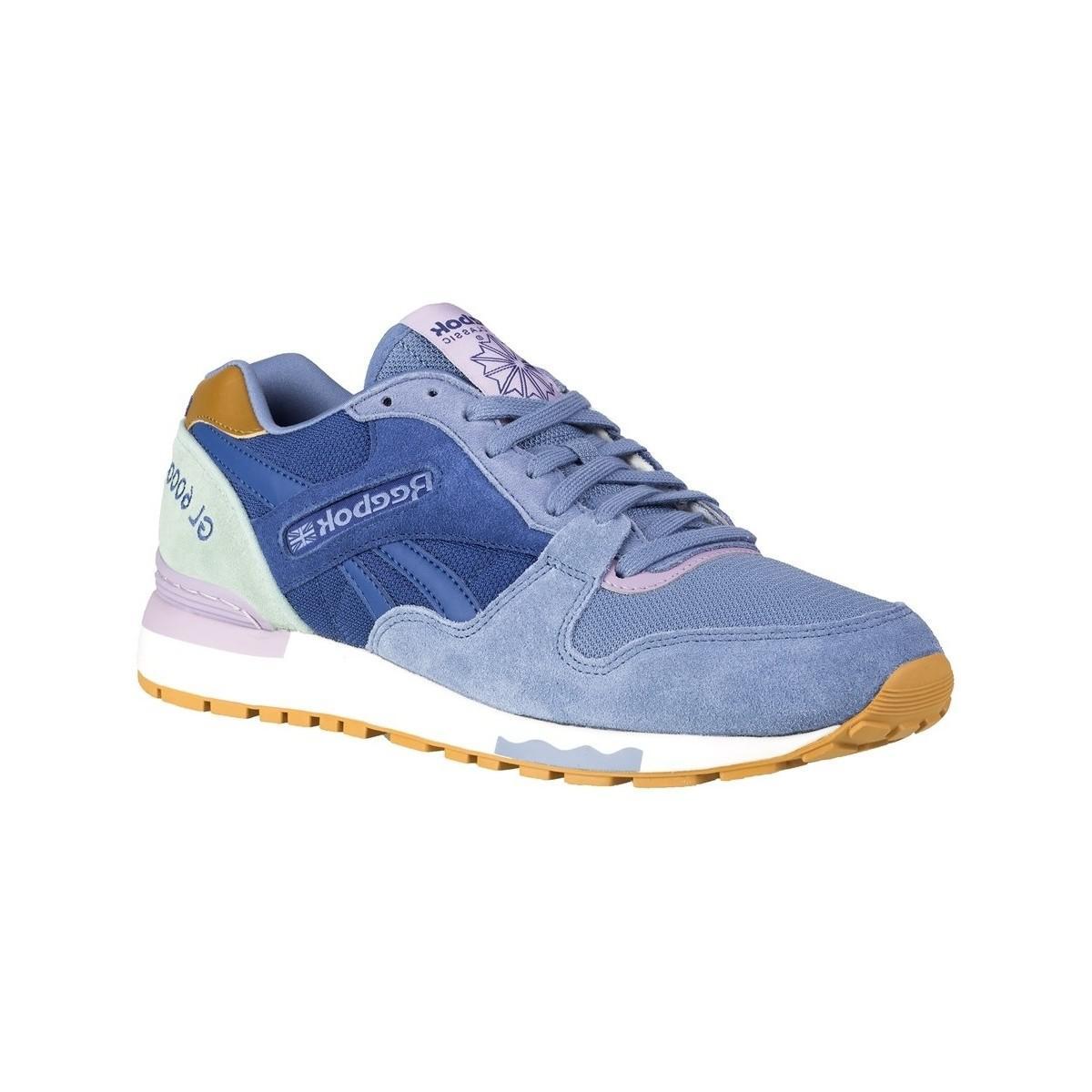 11589076cf5 Reebok Gl 6000 Fleur Women s Shoes (trainers) In Multicolour in Blue ...