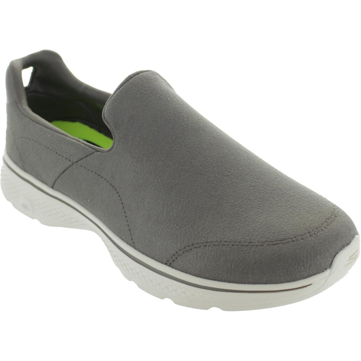 Skechers. Gray Gowalk 4 Remarkable Men's Loafers / Casual Shoes ...