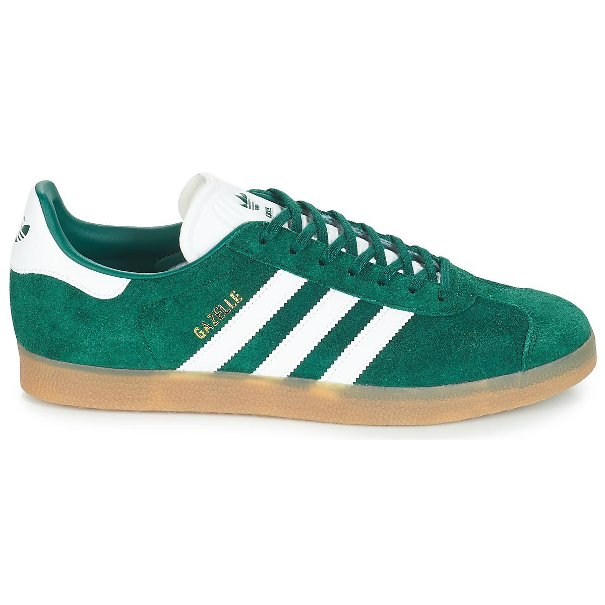 GAZELLE femmes Chaussures en vert adidas en coloris Vert - Lyst