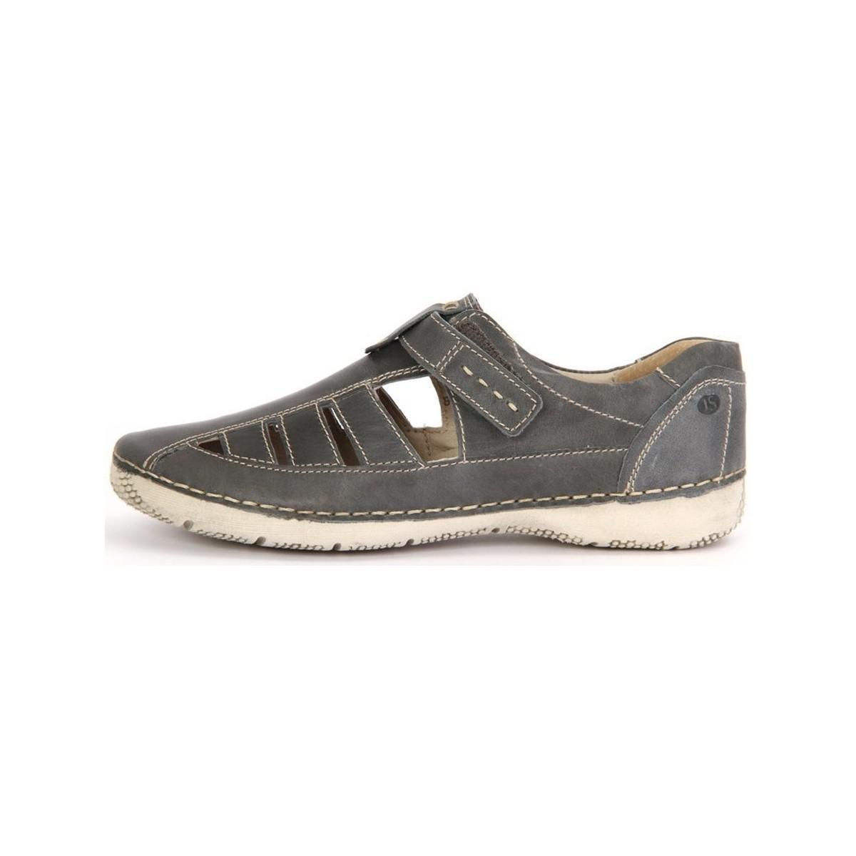 Josef Seibel Denim Antje 11 82911 62 540 Jeans Leder Women's Shoes (trainers) In Multicolour