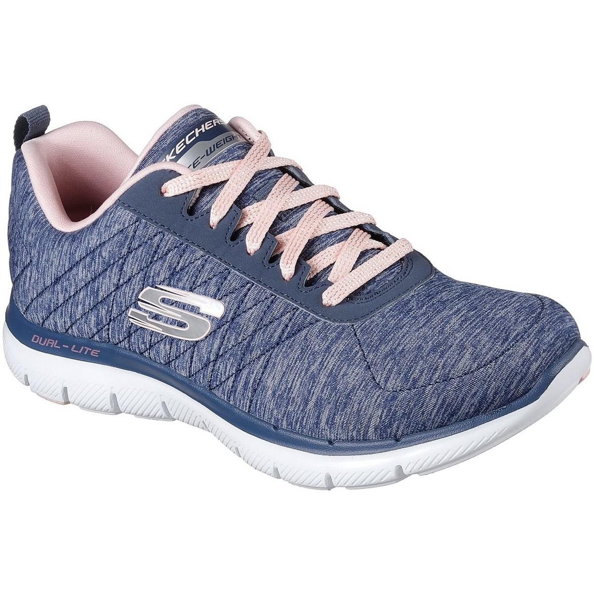 Skechers Rubber Wo Trainers Blue 12753 Nvy 12753 Nvy