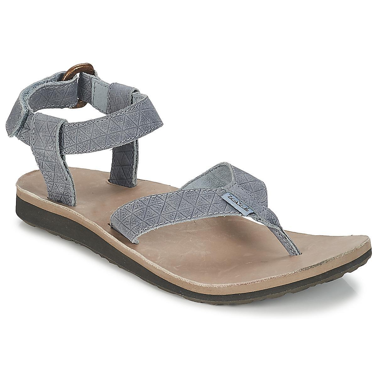 Leather Grey Teva Original Sandal Diamond Gray In Sandals Women's lK3FcJuT1