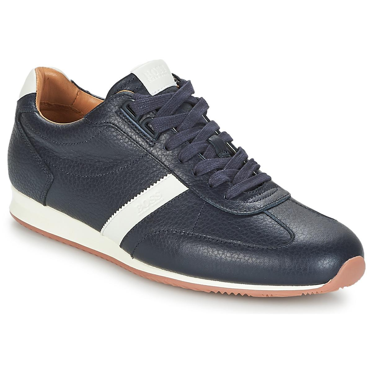85e4329bffb BOSS by Hugo Boss Orland Lowp Tb Shoes (trainers) in Blue for Men - Lyst