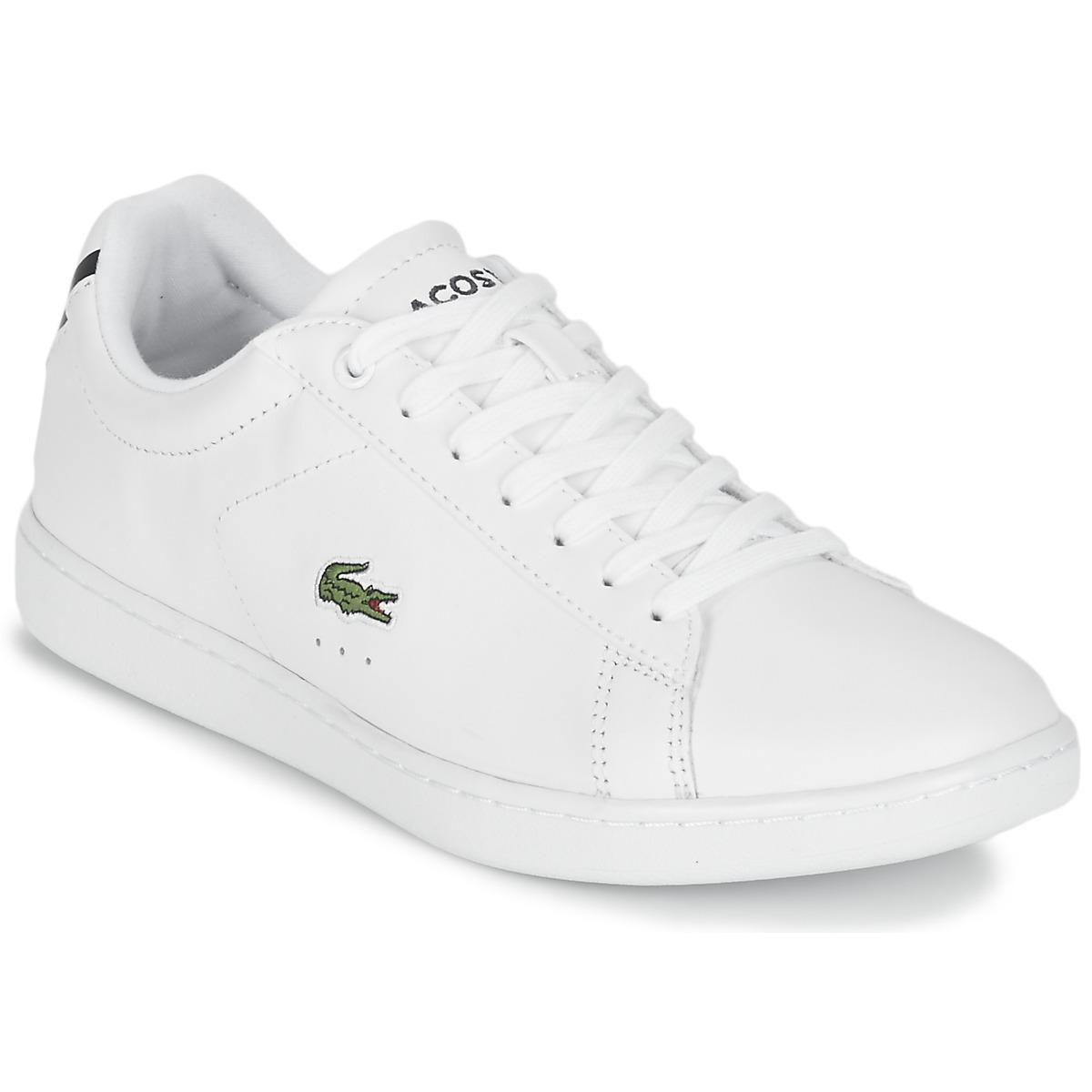 798289305 Lacoste - Carnaby Evo 219 1 Women s Shoes (trainers) In White - Lyst. View  fullscreen