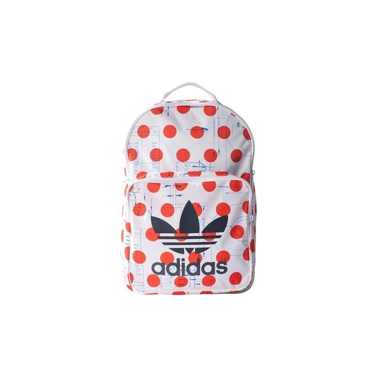 Adidas Bp Clas Dots Men s Backpack In Red in Red for Men - Lyst f84fa4e9033b9