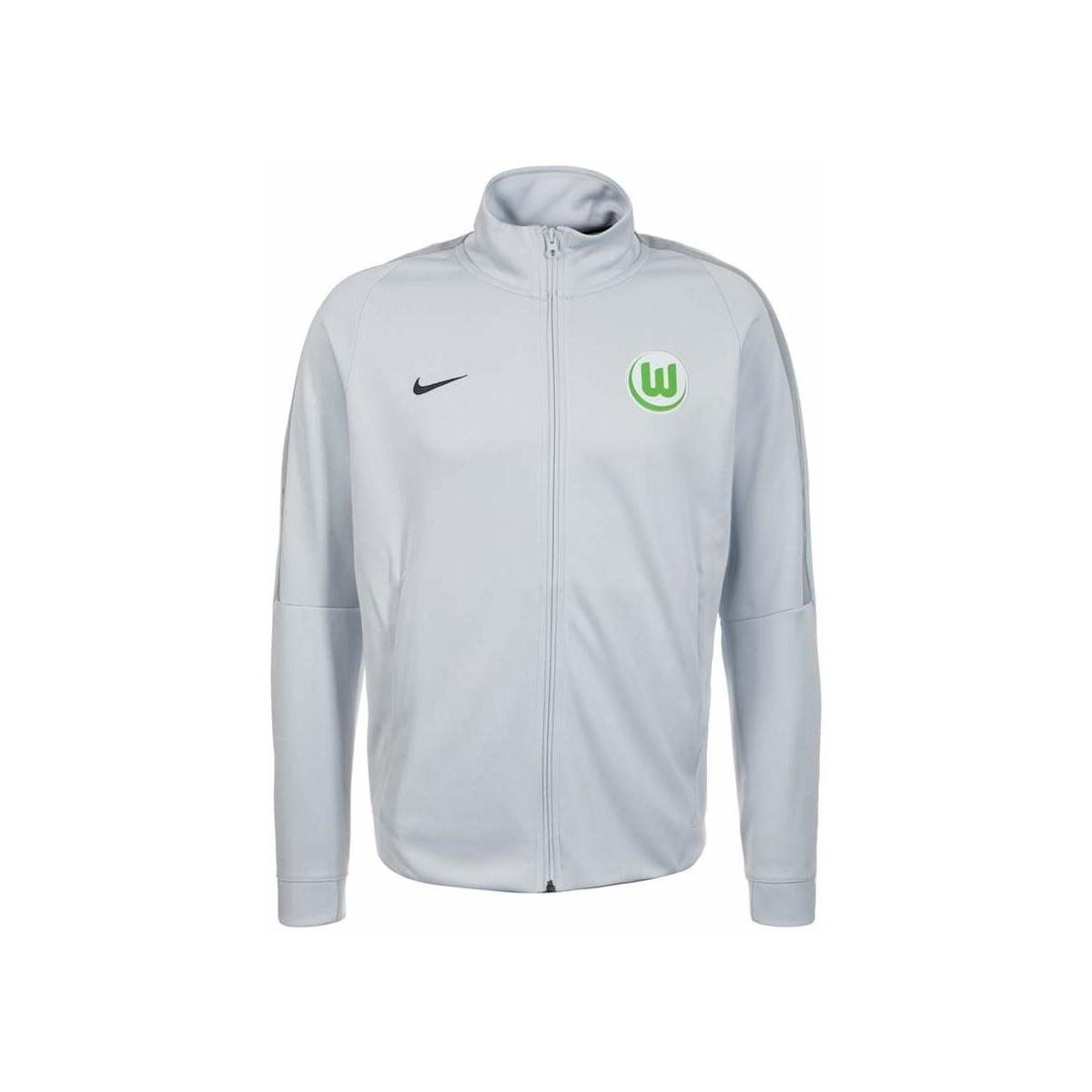 2016 2017 VFL Wolfsburg Nike Rain Jacket (Navy)