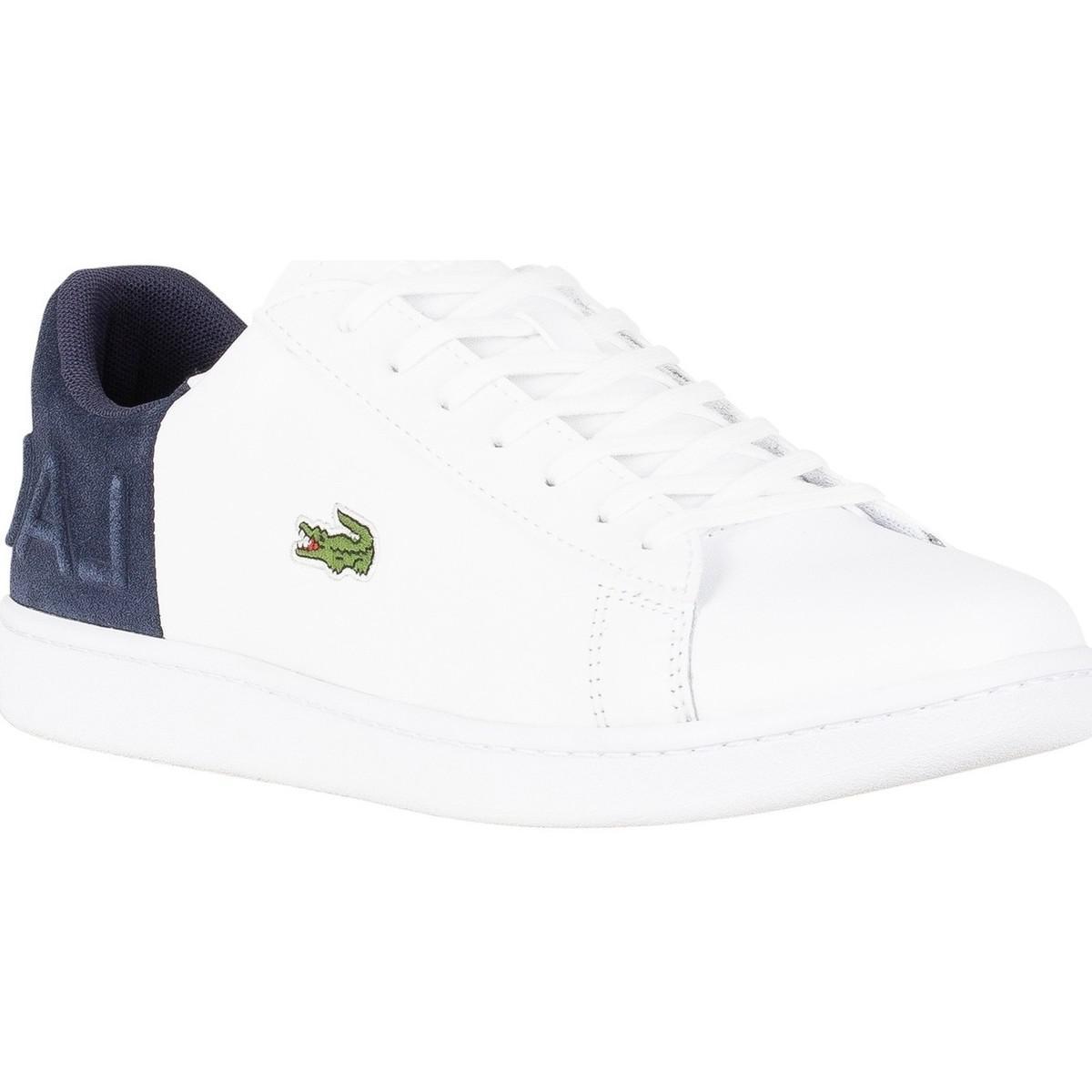 2 Lacoste Carnaby Spm En Homme CuirBlanc Coloris White Pour Qsp Trainers Hommes 318 Evo Chaussures FKTJcu1l3
