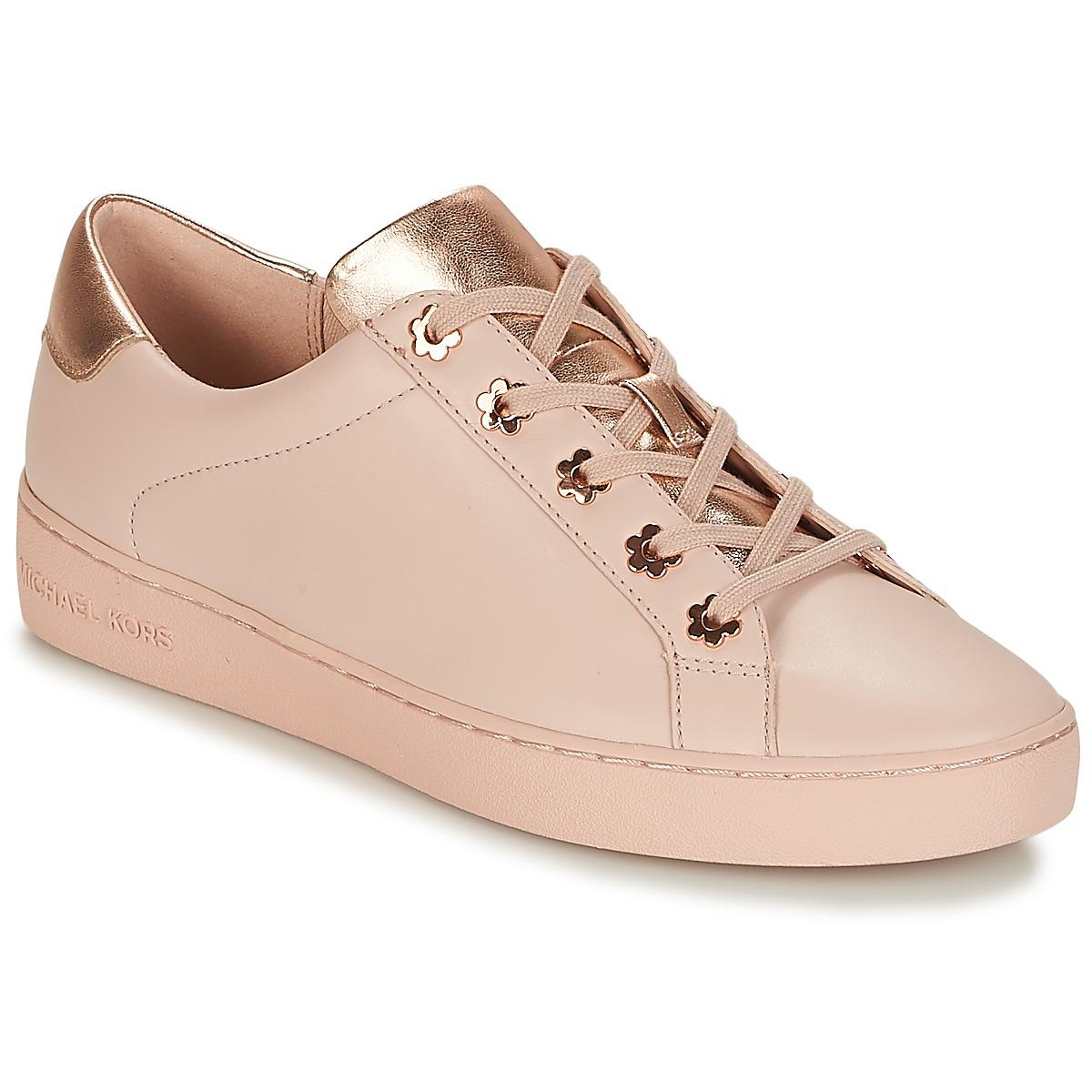 c3c92f3f3141 MICHAEL Michael Kors Irving Women s Shoes (trainers) In Pink in Pink ...